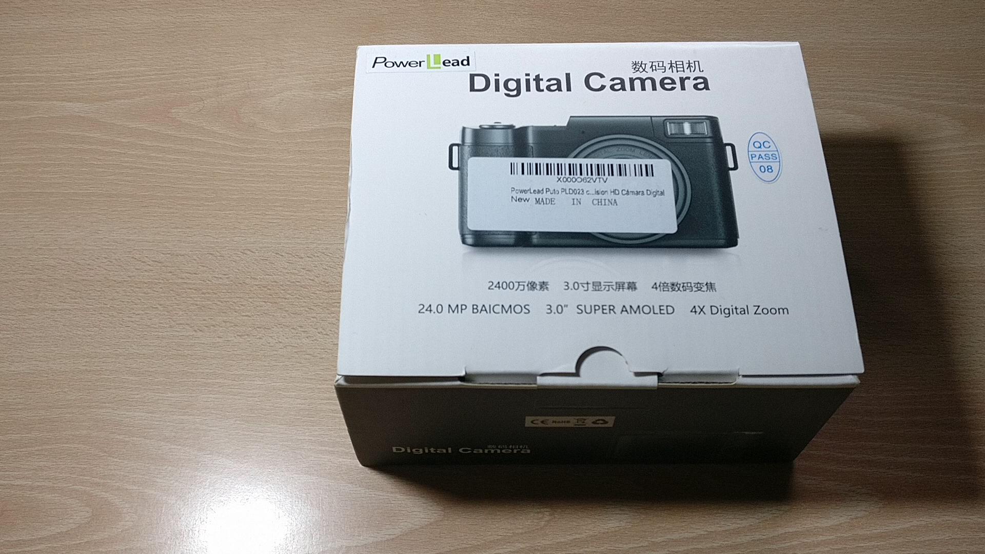 PowerLead Videocámara,Vídeo Digital Cámara, 24MP Cámara Digital,16X Zoom Cámara,Pantalla LCD 2.7 Pulgadas Rotación de 270 ° (R2): Amazon.es: Electrónica