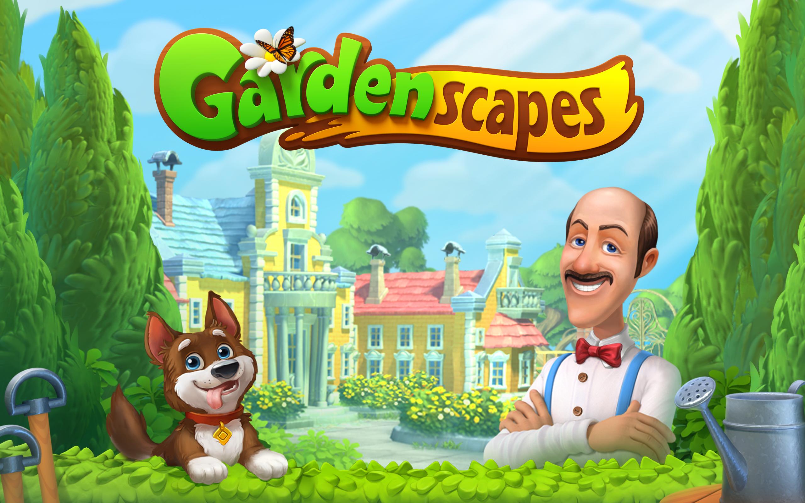 Gardenscapes Facebook
