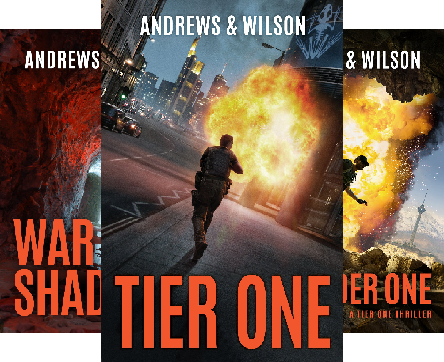 Tier One Thrillers (5 Book Series)