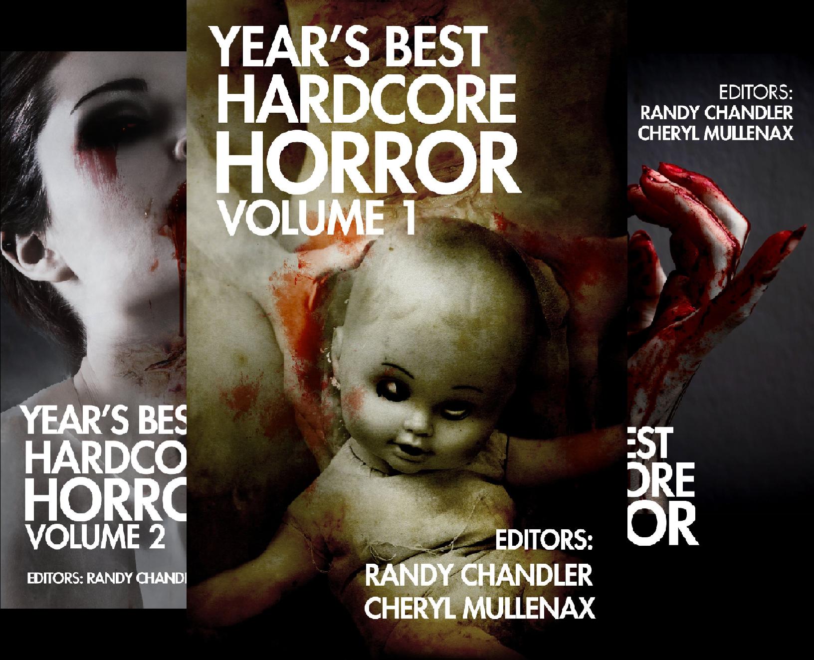 Year's Best Hardcore Horror (4 Book Series)