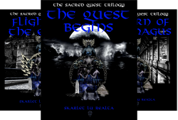The Sacred Quest Trilogy (3 Book Series) by  Skarlet Lu Realta