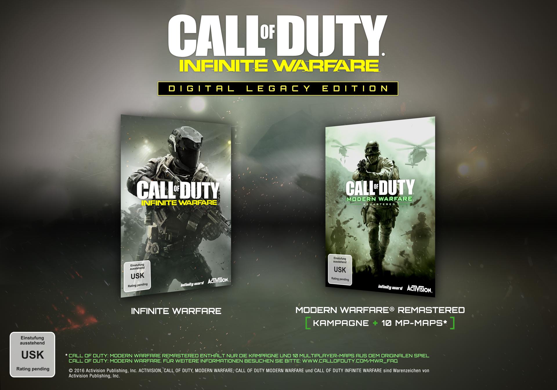 Call of Duty: Infinite Warfare - Digital Legacy Edition [PC Code - Steam]