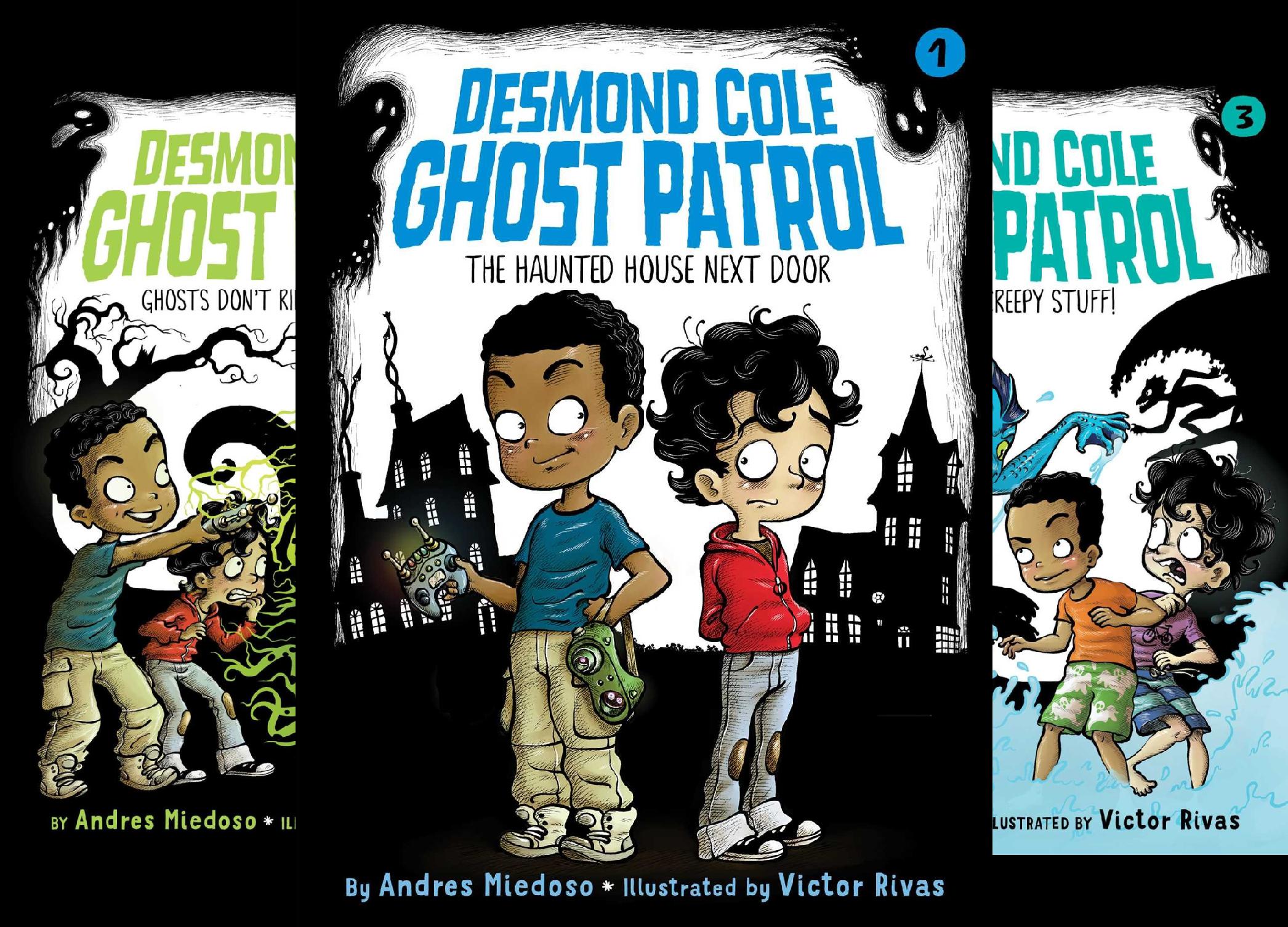 Desmond Cole Ghost Patrol (8 Book Series)