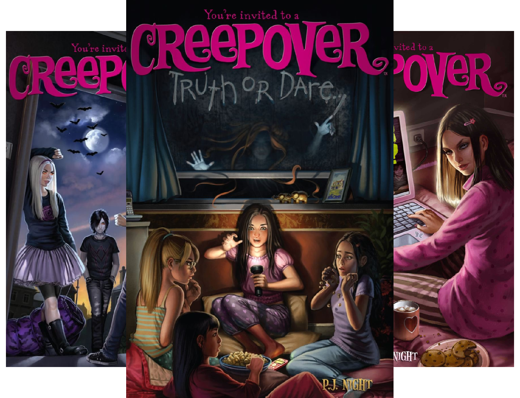 Creepover (22 Book Series) ()