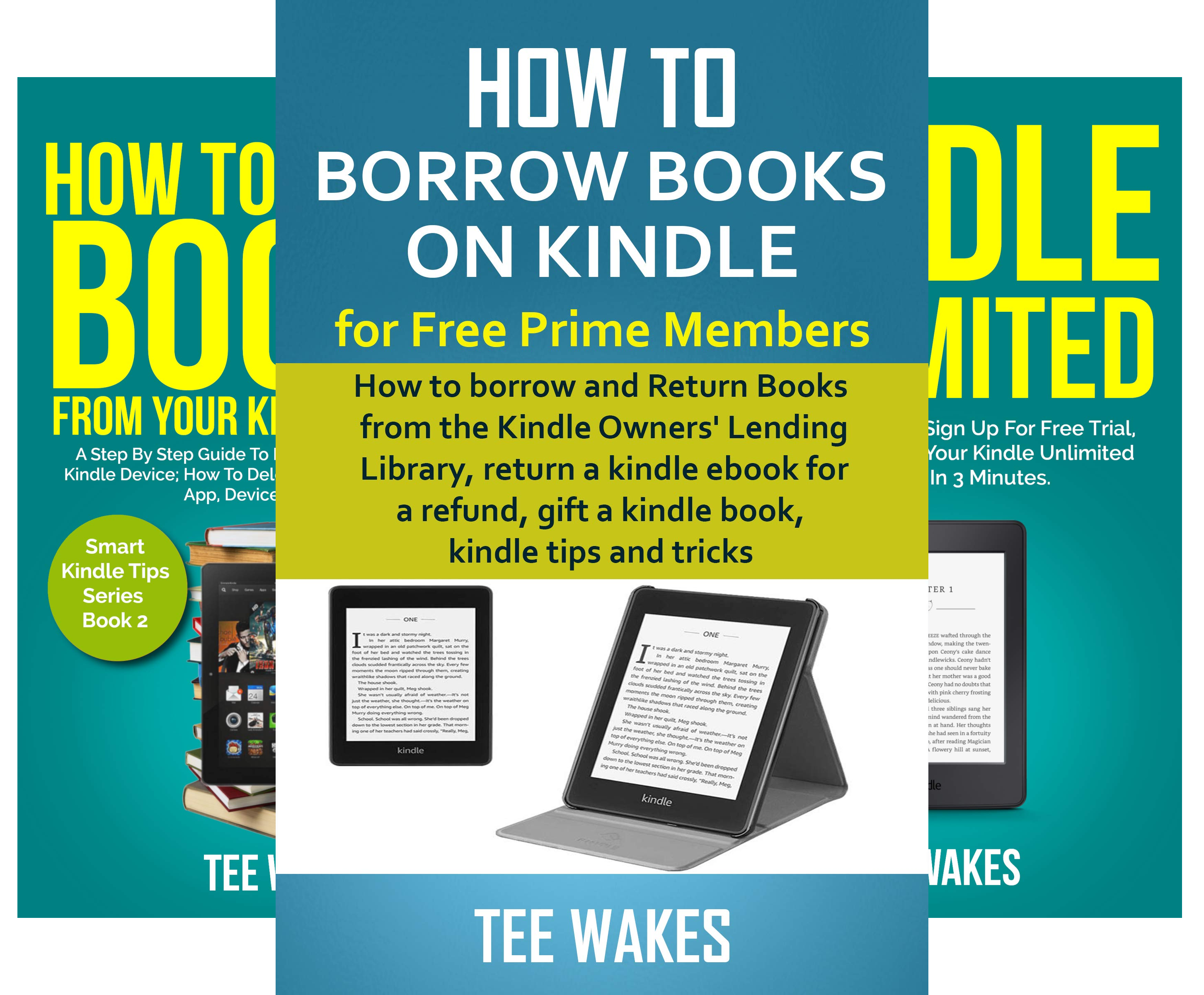 Smart Kindle Tips (4 Book Series)