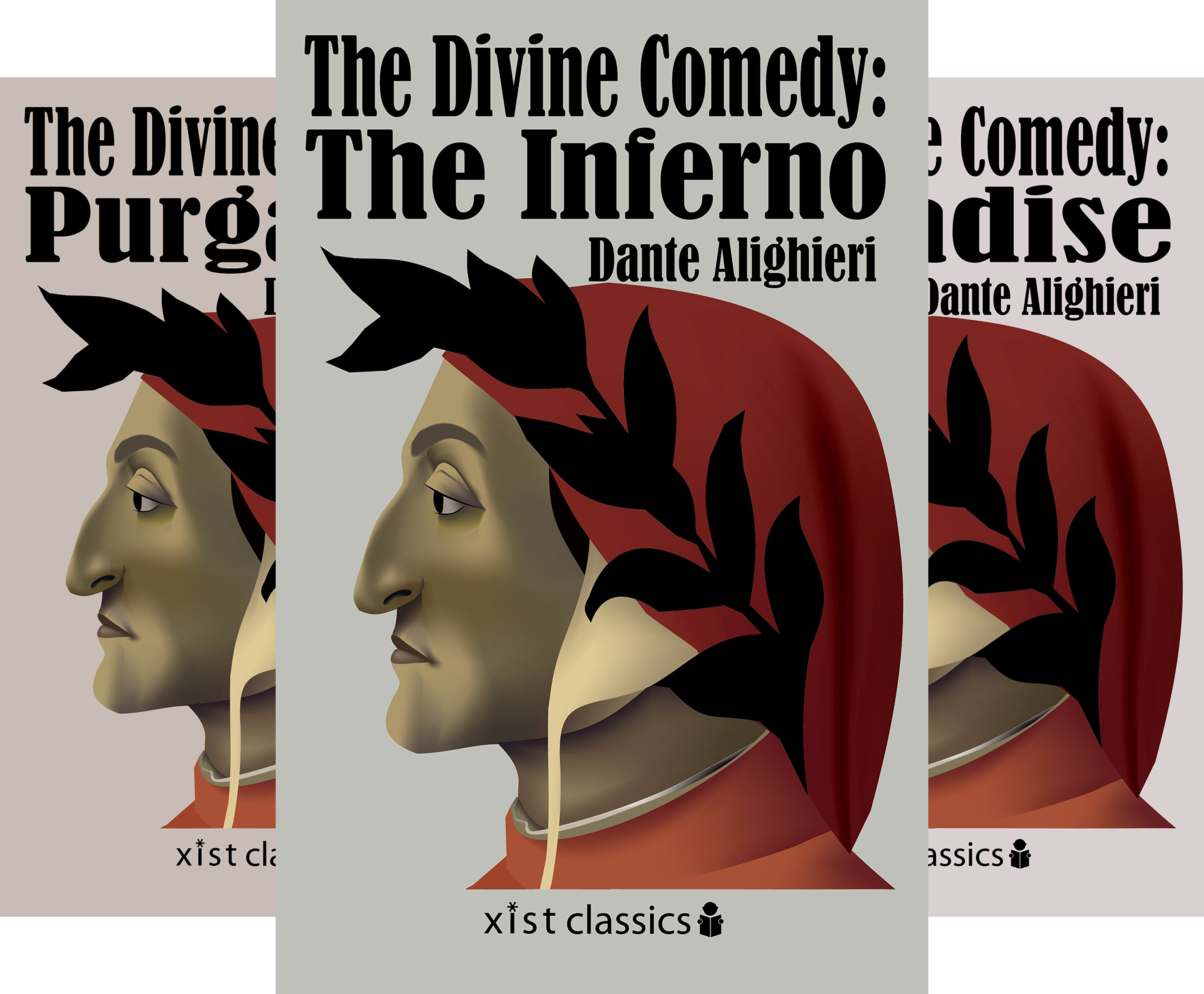 The Divine Comedie Trilogy (3 Book Series)
