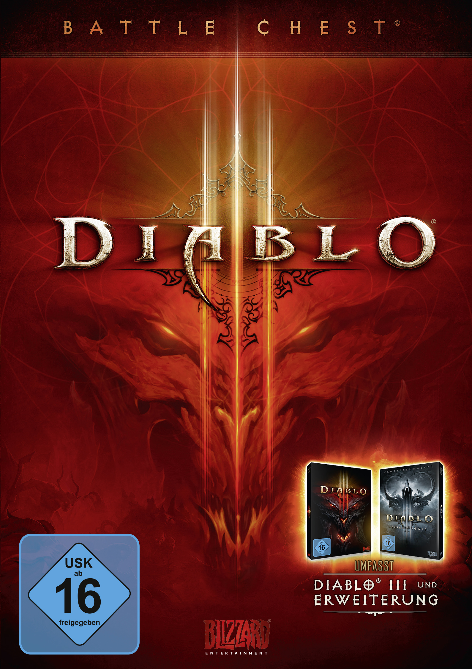 Diablo III: Battle Chest [PC Code - Battle.net] [PC/Mac Code] - Pc Diablo Game