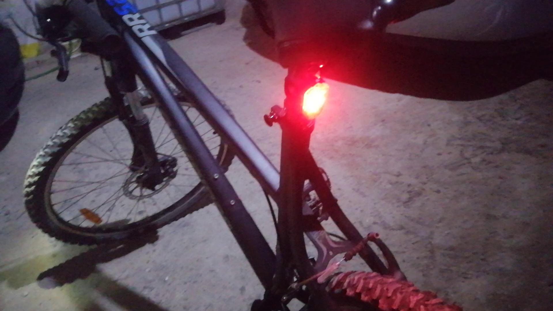 WOSTOO LED Luz Bicicleta, Luces Bicicleta Delantera y Trasera ...