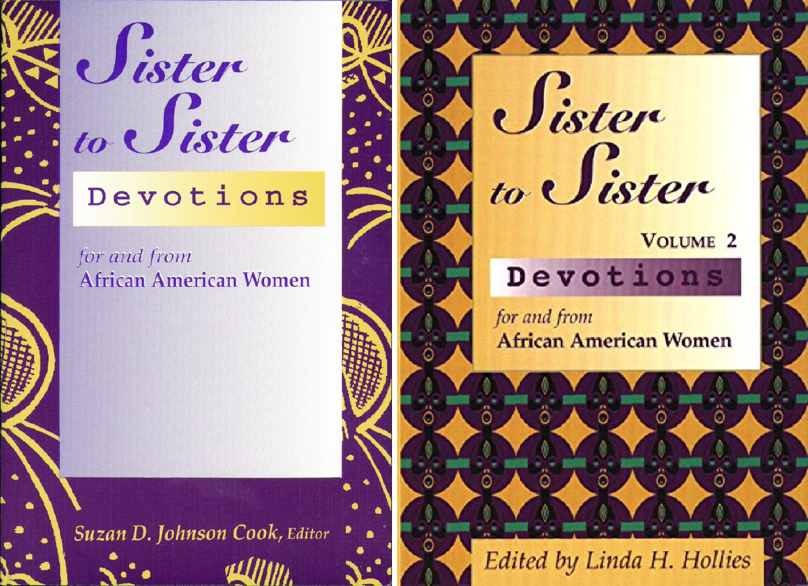 Sister to Sister Series (2 Book Series)