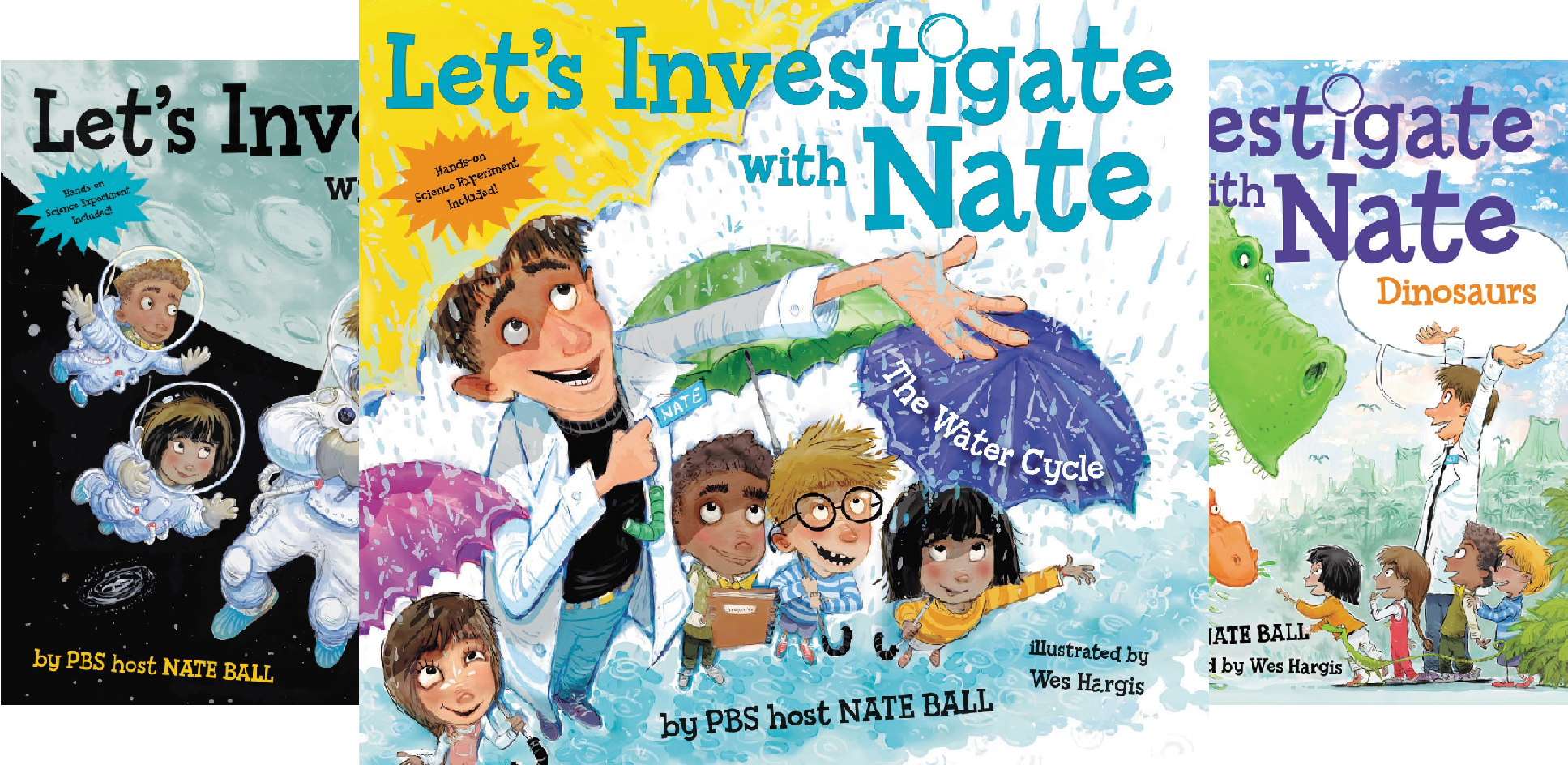 Let's Investigate with Nate (4 Book Series)