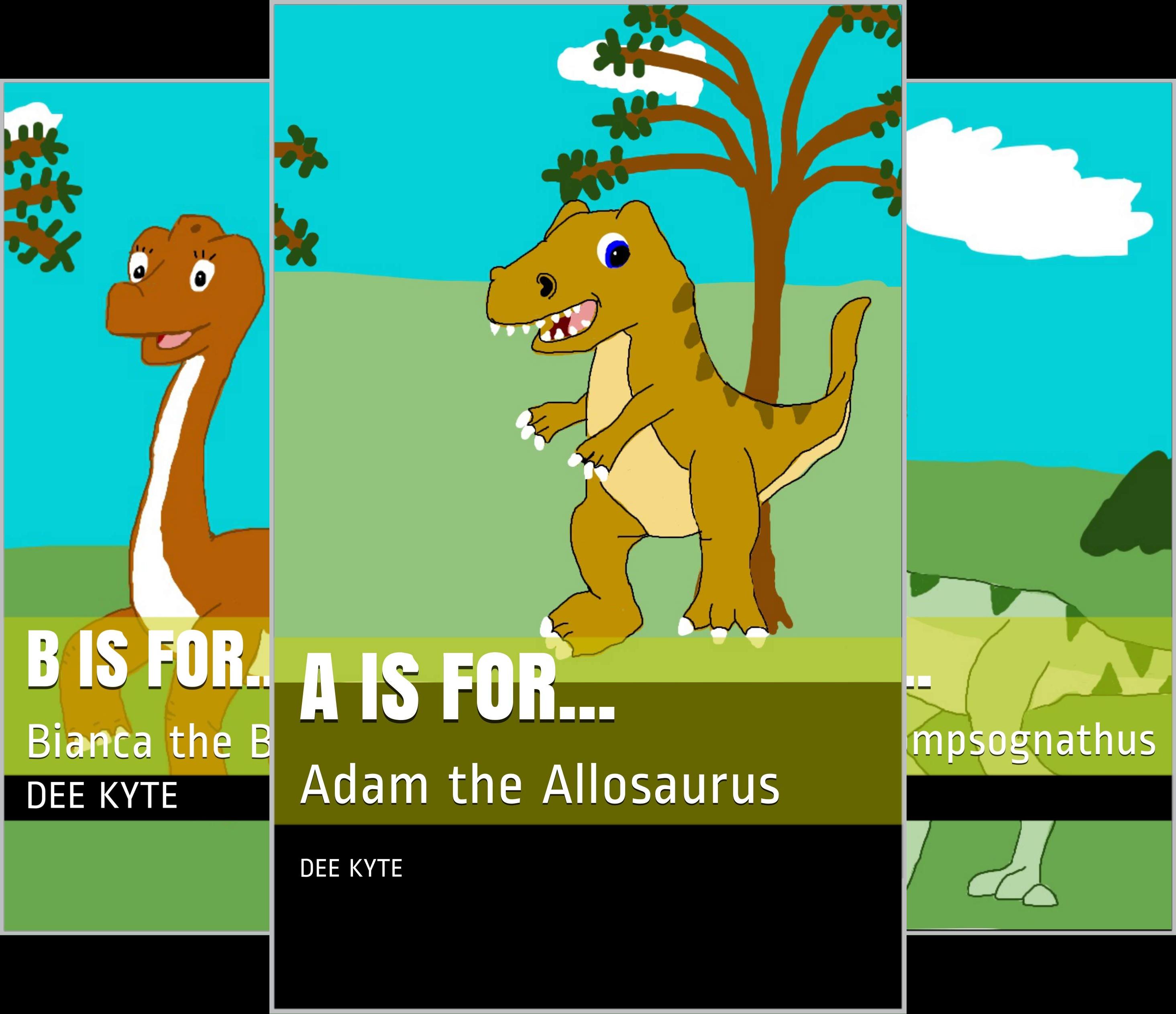 My Dinosaur Alphabet Series (8 Book Series)