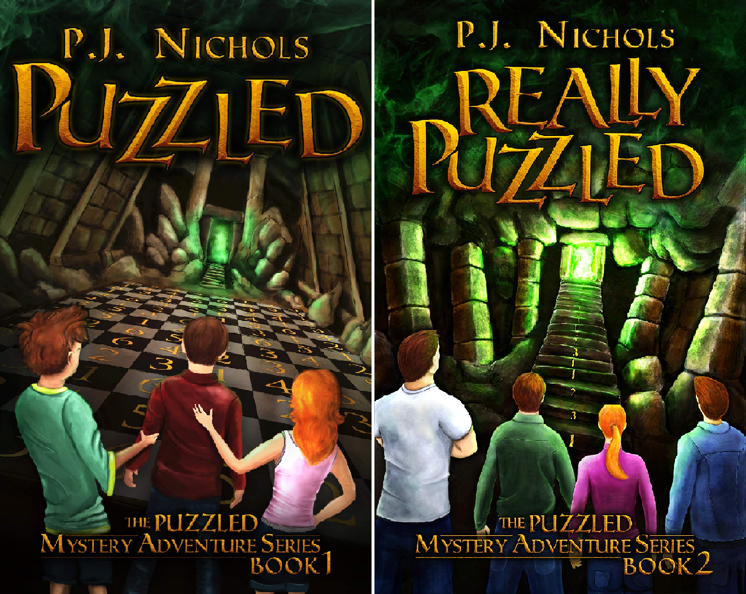 The Puzzled Mystery Adventure Series (2 Book Series)