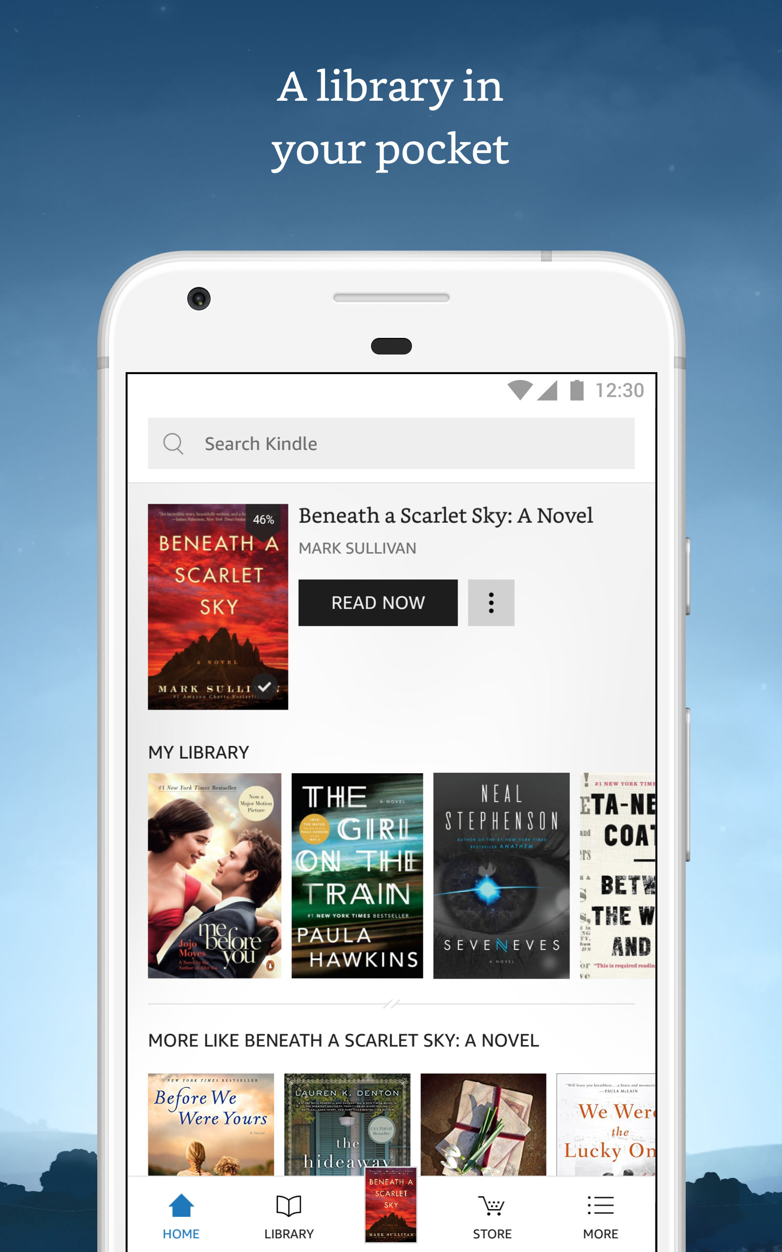 Kindle für Android: Amazon.de: Apps für Android