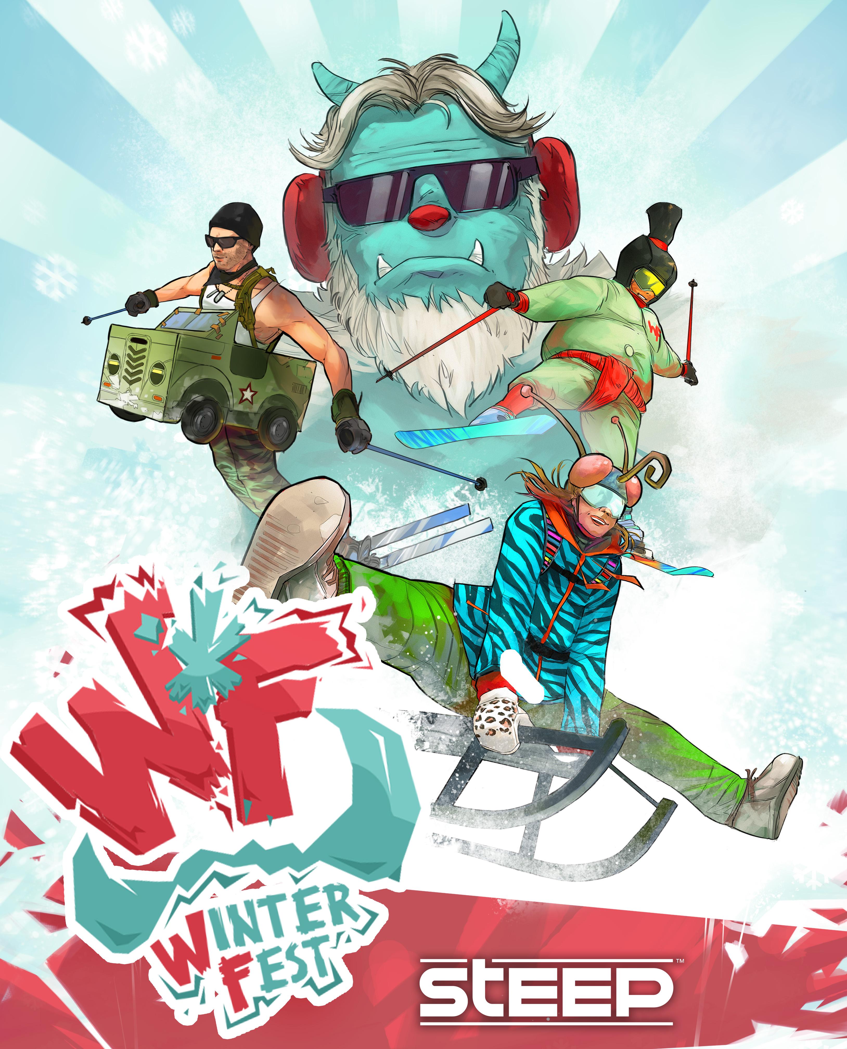 Steep - Winterfest Pack [PC Code - Uplay] (Polnische Schlitten)