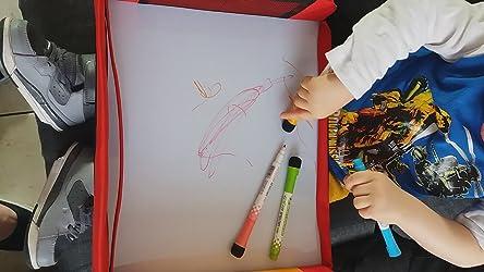 collations Wangjie Utilisation int/érieure et ext/érieure Plateau pour si/ège de voiture Pour jouets bus avion train Id/éal pour les voyages