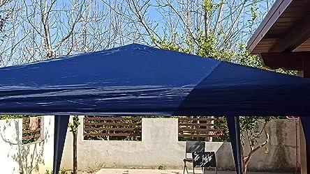 Hikole Carpa Jardin Cenador Plegable 3x3 Carpas Plegables Impermeables Gazebo Plegable 3x6 Pabellón de Jardín con 4 Paredes Laterales