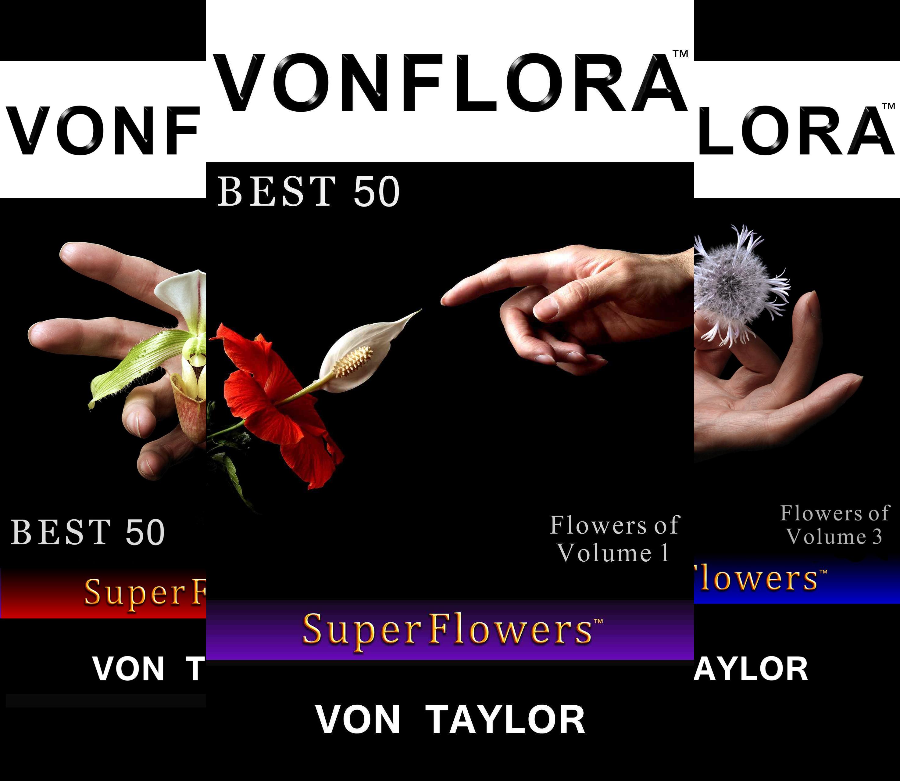 VONFLORA Super Flowers (4 Book Series)