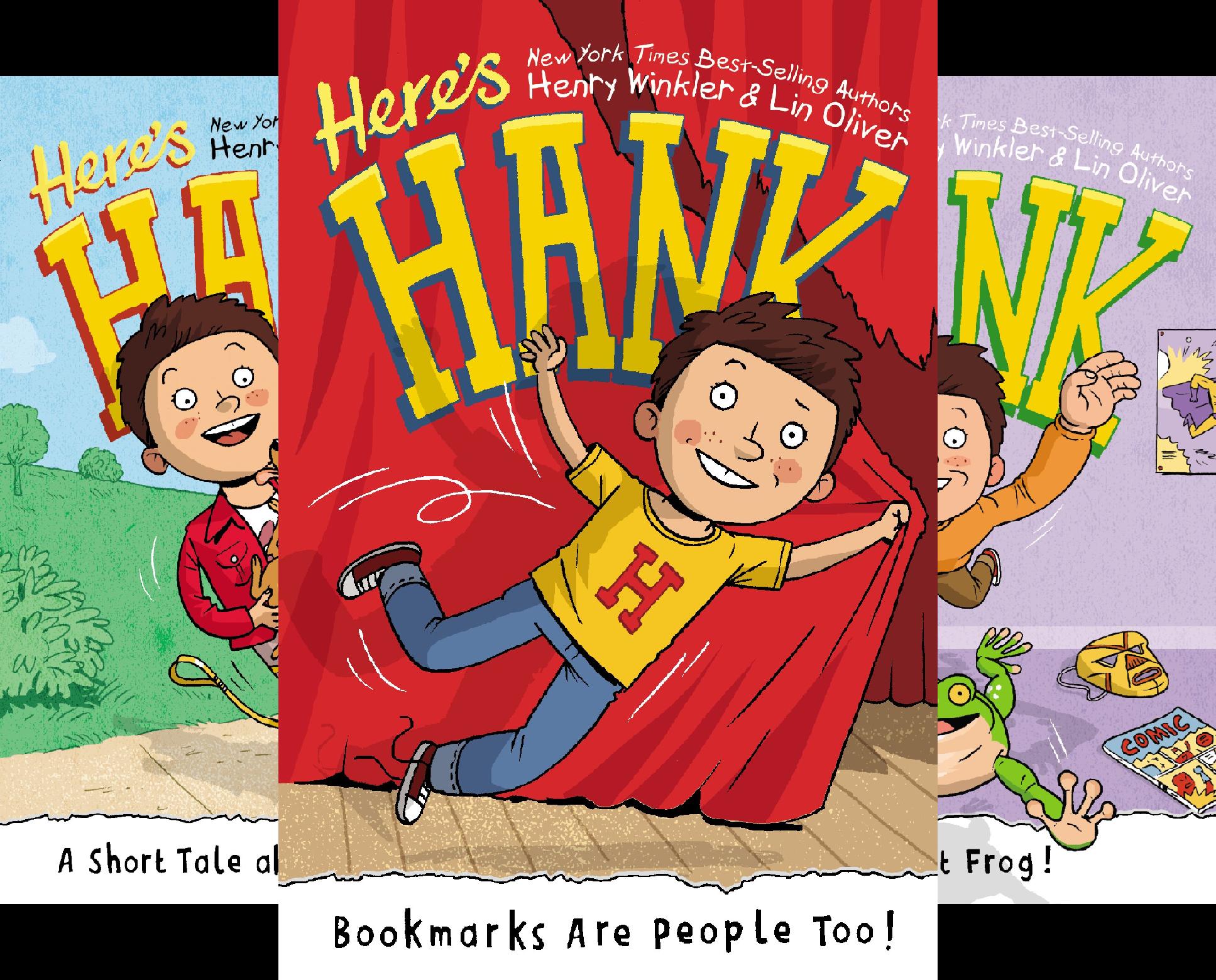 Here's Hank (12 Book Series)