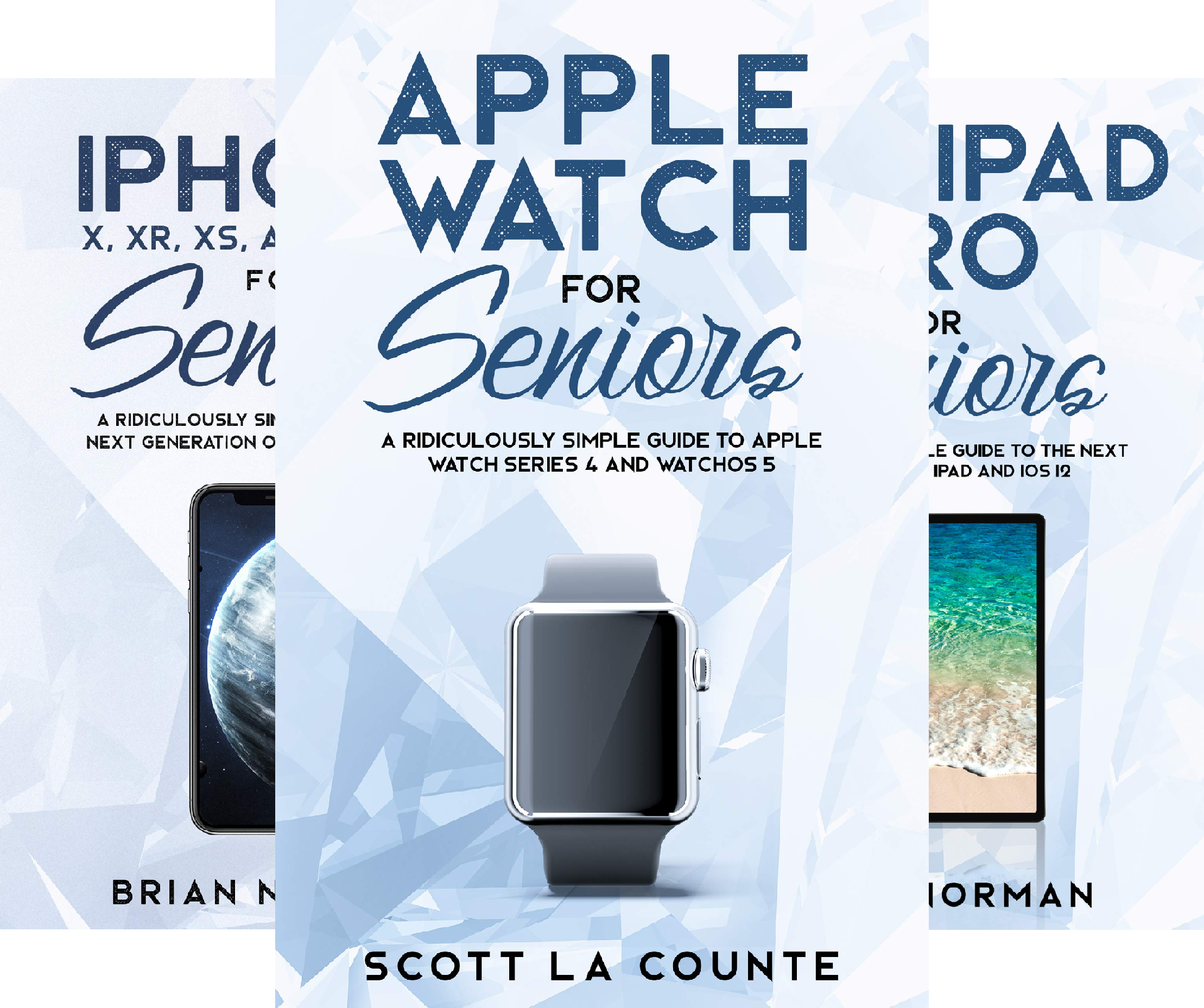 Tech For Seniors (3 Book Series)