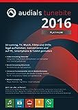 Audials Tunebite 2016 Platinum: Rekorder für Musikstreaming, Videostreaming inklusive Universalkonverter und DVD-Kopierer [Download]