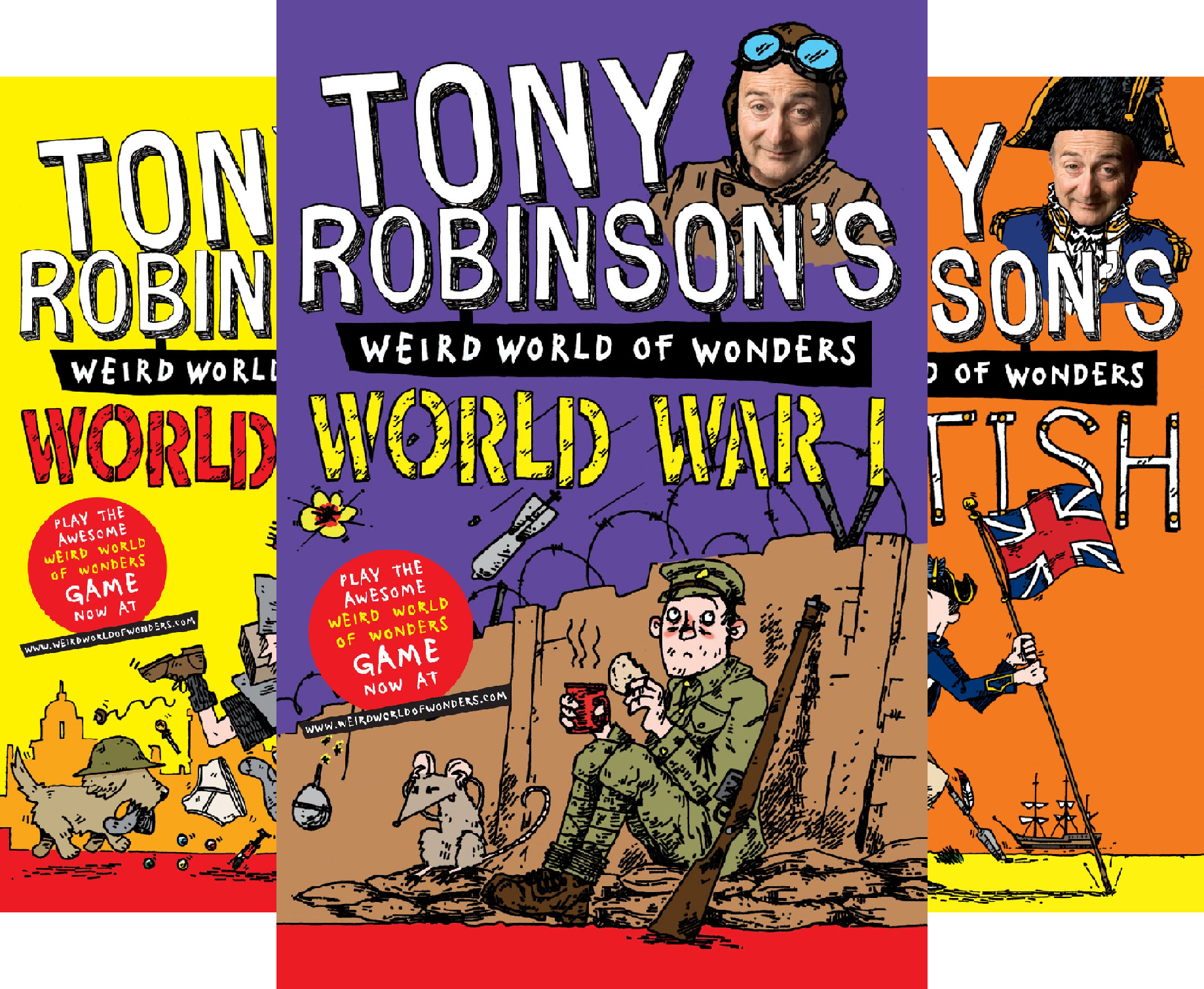Sir Tony Robinson\'s Weird World of Wonders (7 Book Series)