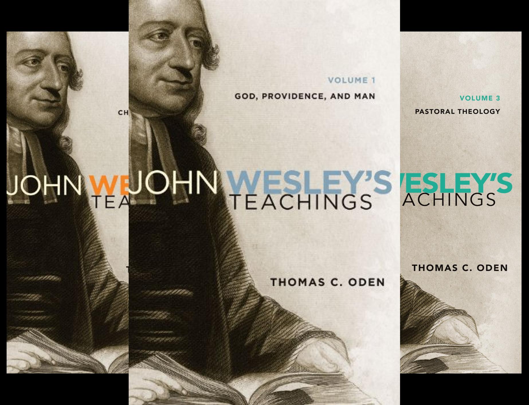 United Methodist Set (John Wesley's Teachings---Complete Set: Volumes 1-4 (4 Book Series))