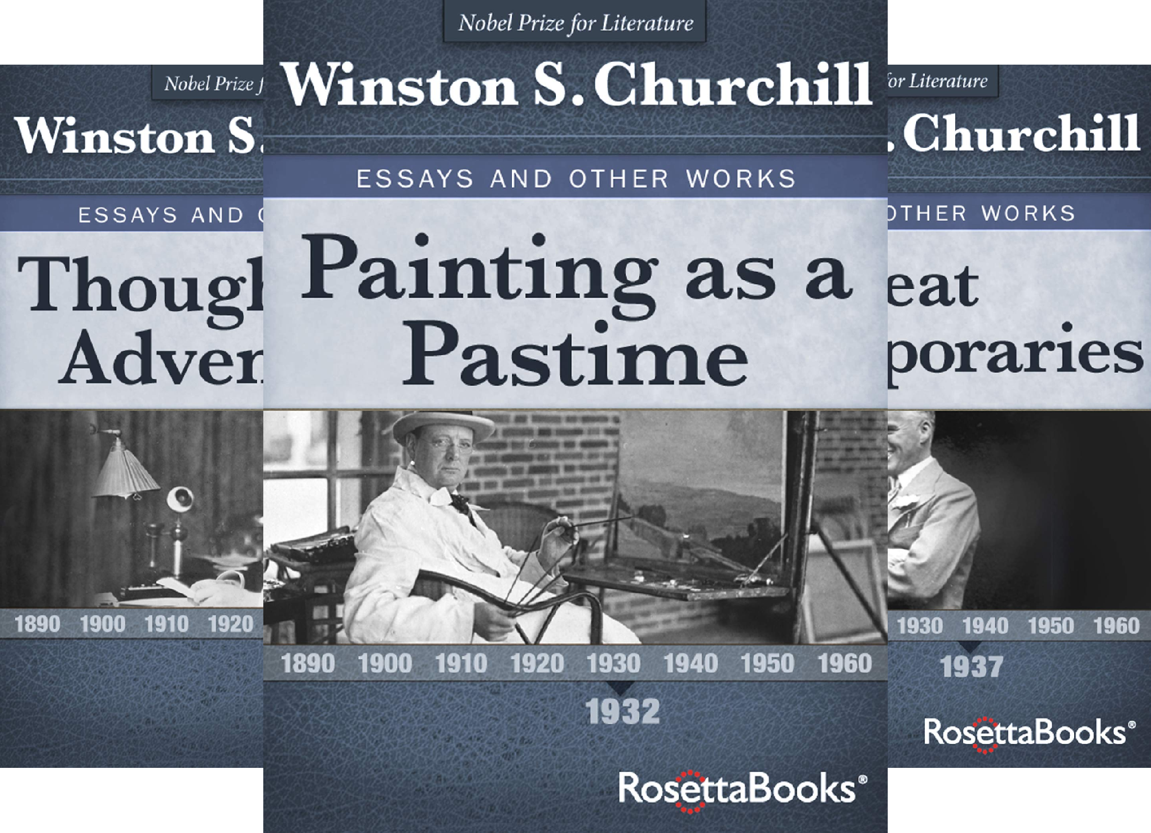 Winston S. Churchill Essays and Other Works (5 Book Series)