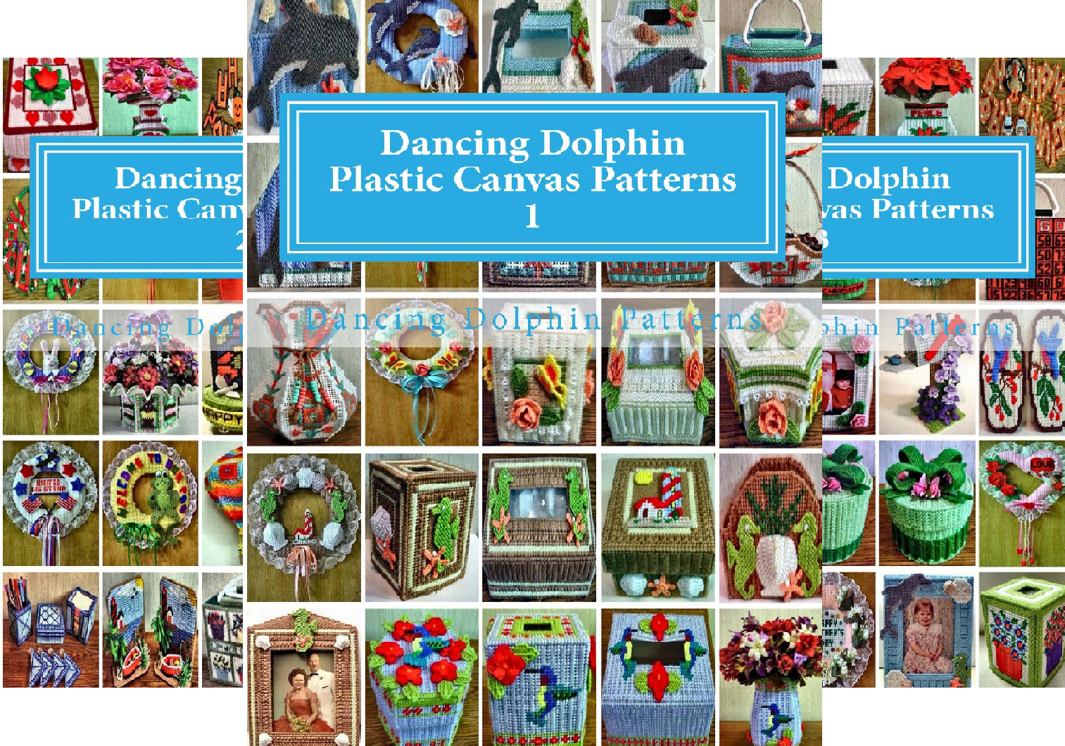Dancing Dolphin Plastic Canvas Patterns (20 Book Series)