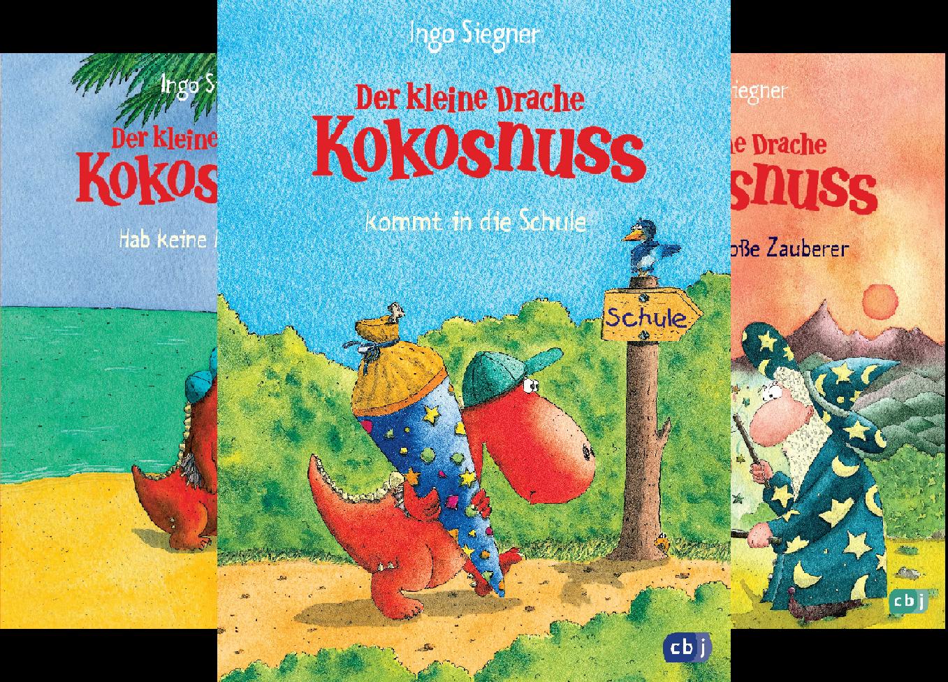 Die Abenteuer des Kleinen Drachen Kokosnuss (Reihe in 27 Bänden)