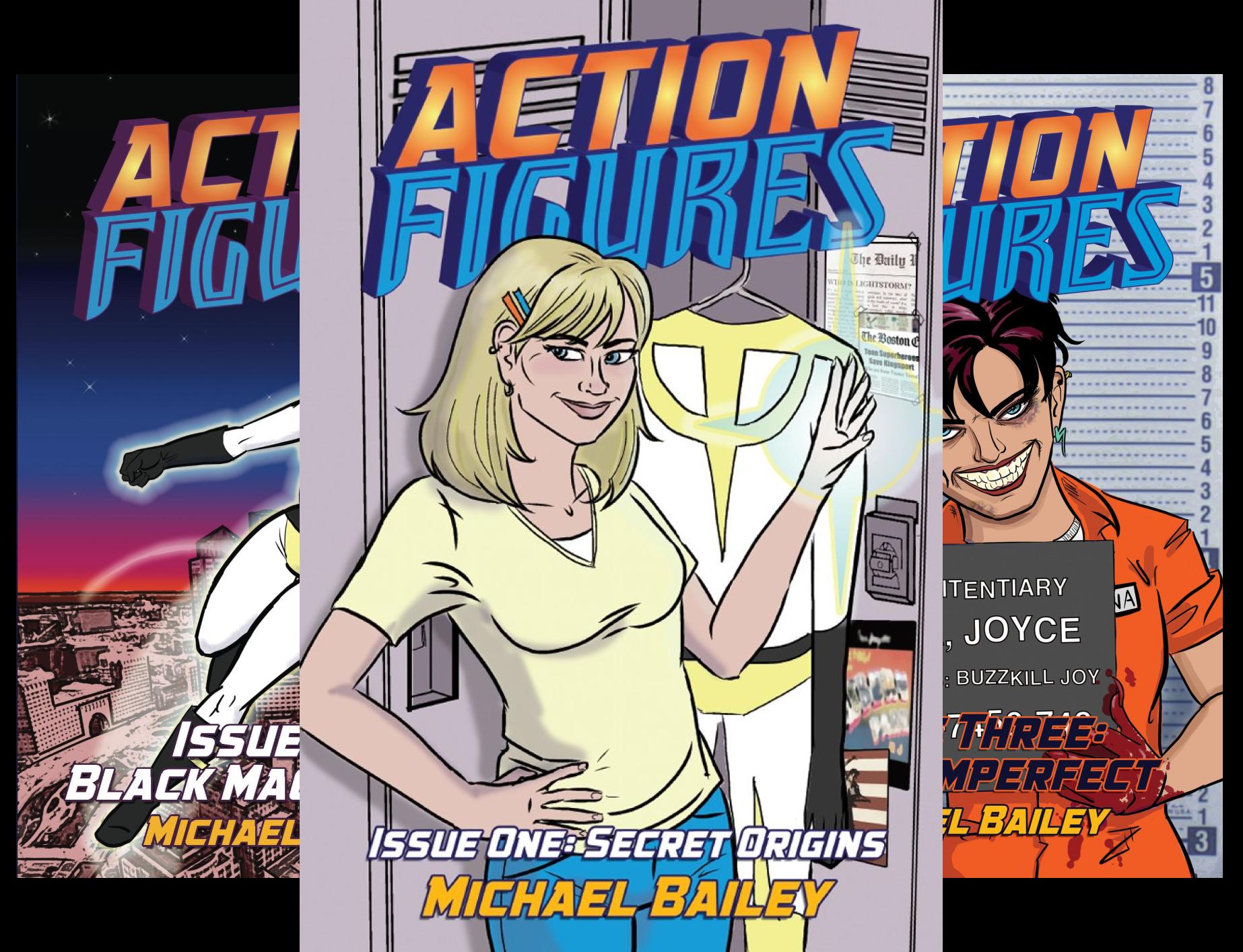 action-figures-6-book-series