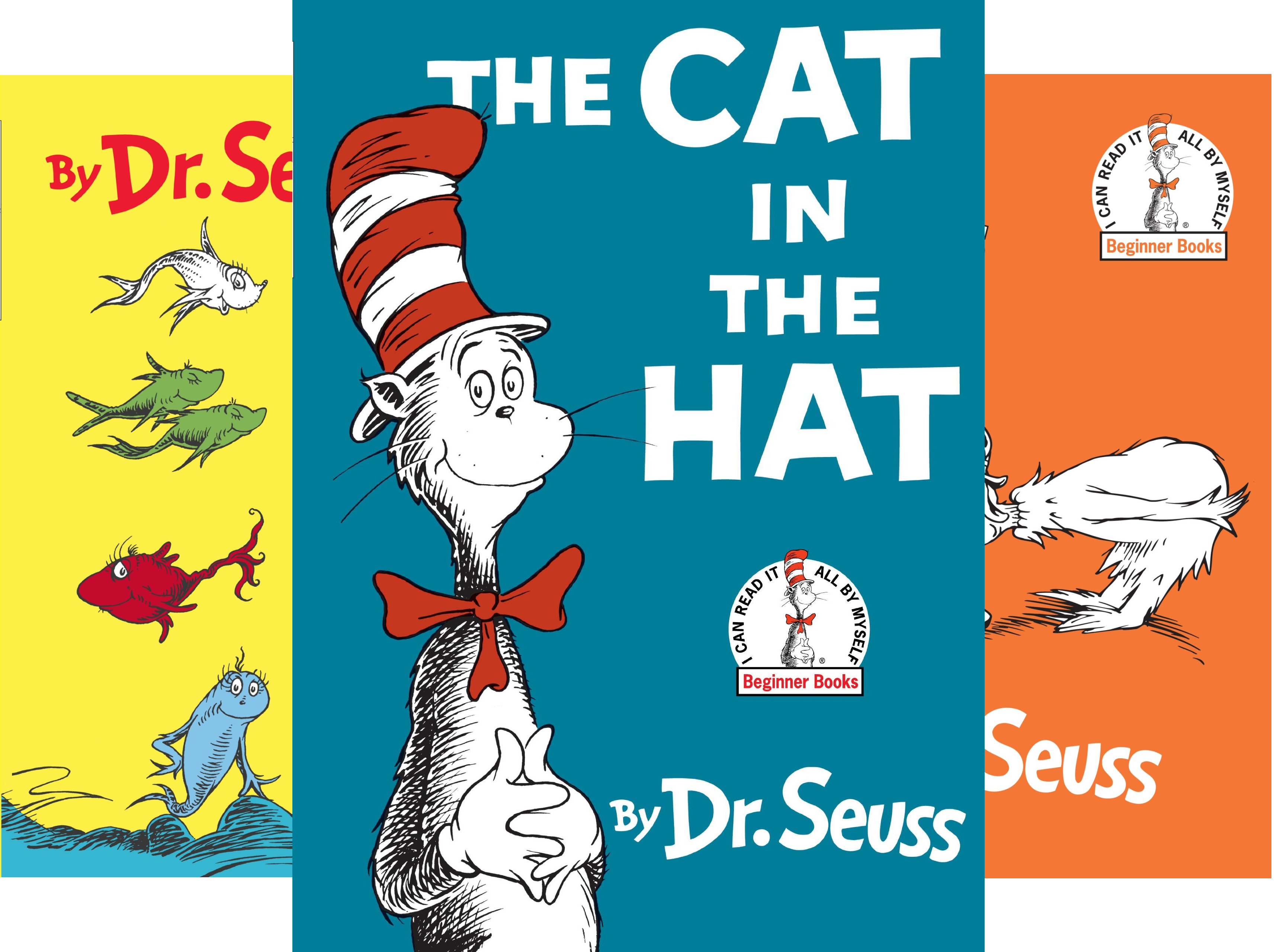 Dr. Seuss's Beginner Book Collection (Cat in the Hat, One Fish Two Fish, Green Eggs and Ham, Hop on Pop, Fox in Socks) (Sock Fish Green)