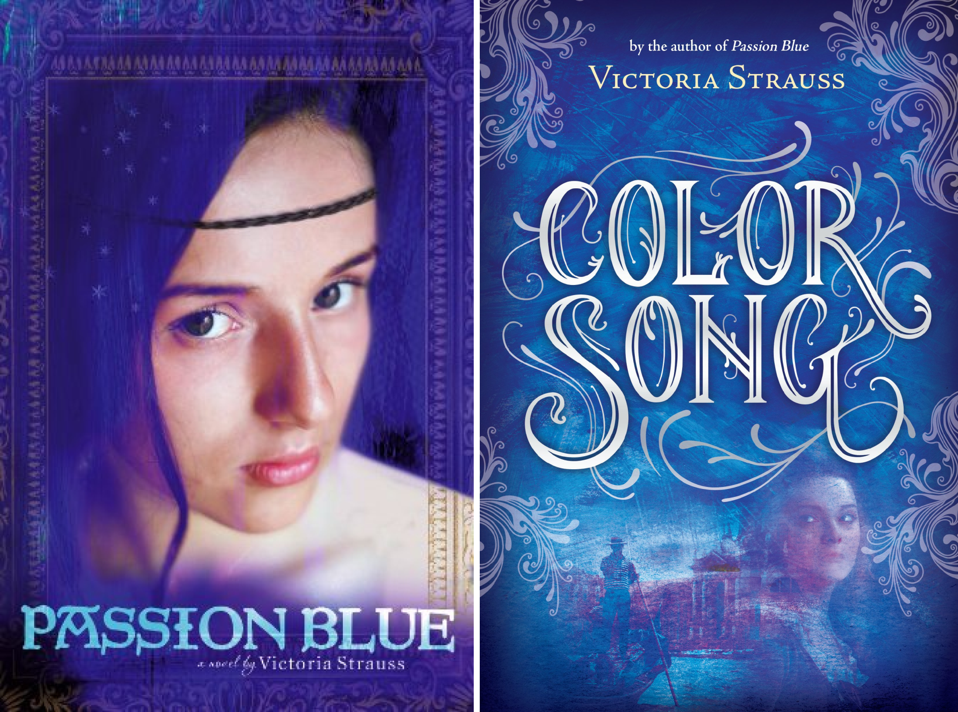Passion Blue Duology (2 Book Series)