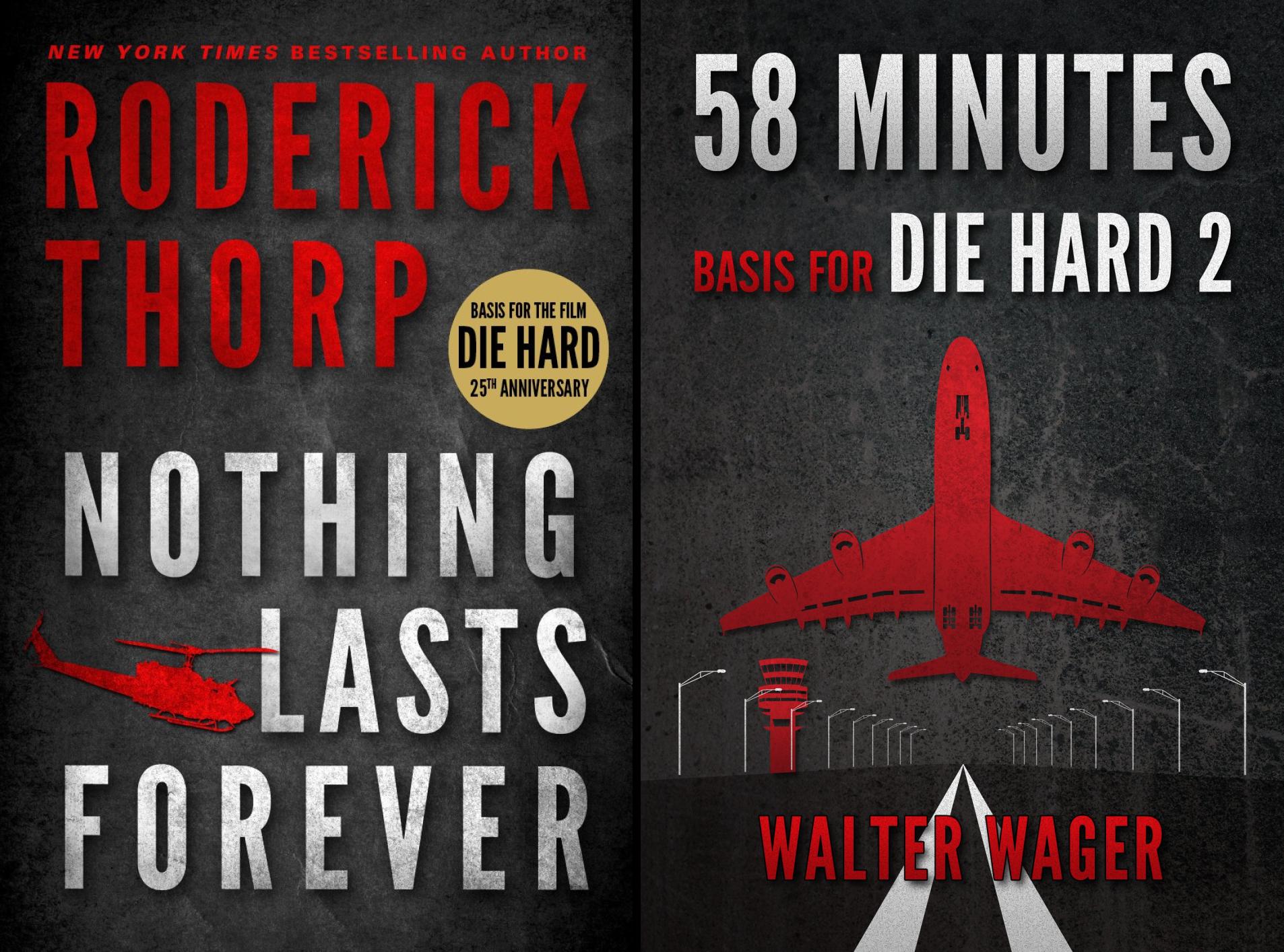 Basis for the Film Die Hard (2 Book Series)