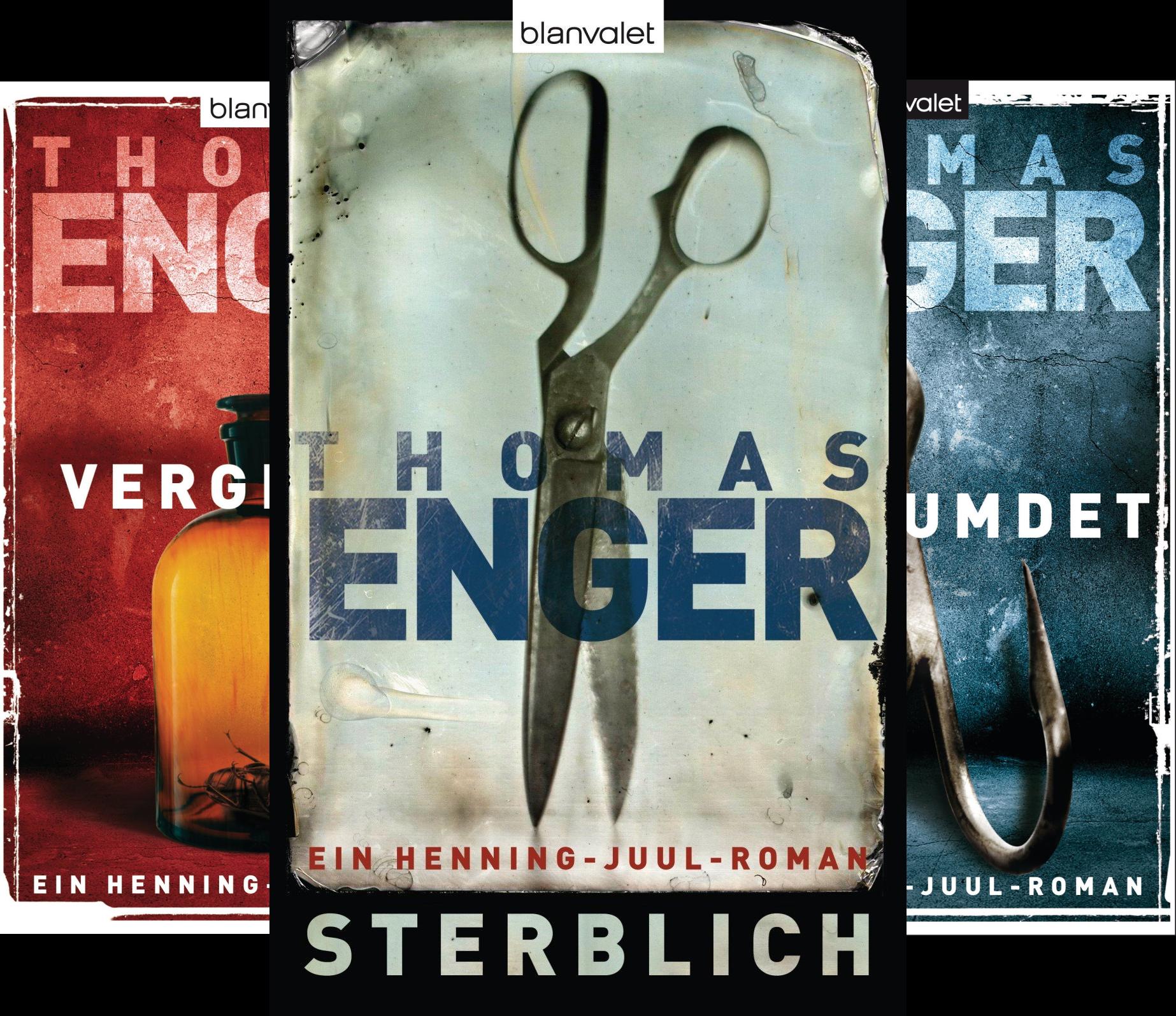 Henning Juul Romane (Reihe in 5 Bänden)