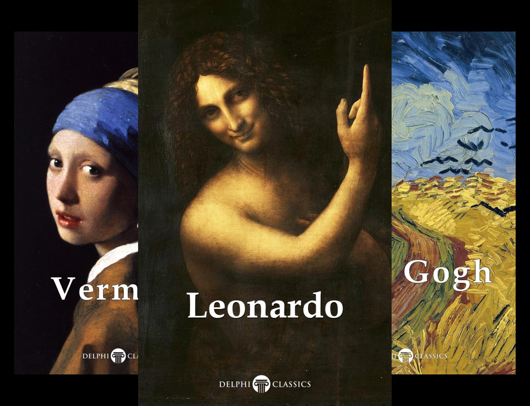 Delphi Masters of Art (43 Book Series)