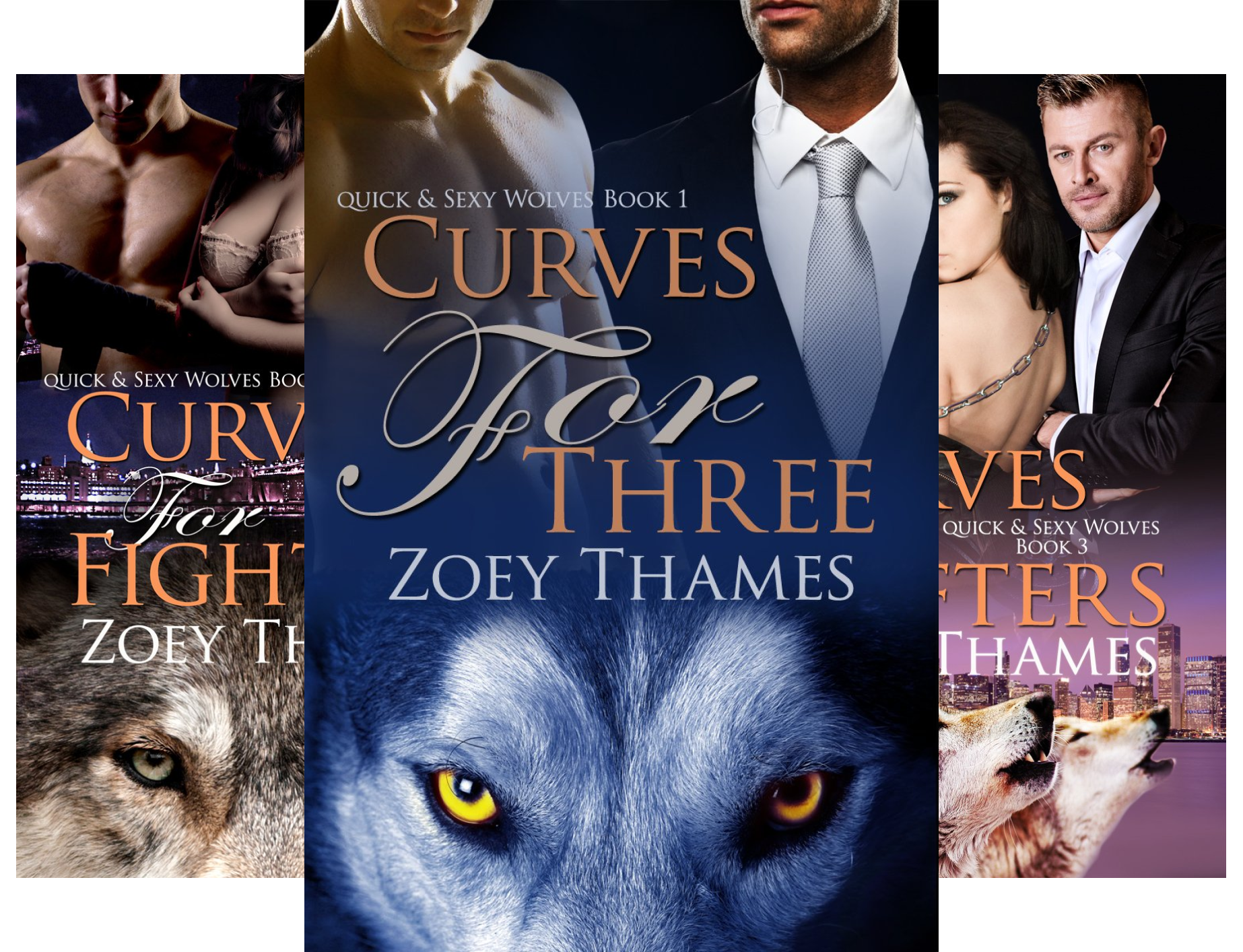 Quick & Sexy Wolves (4 Book Series)