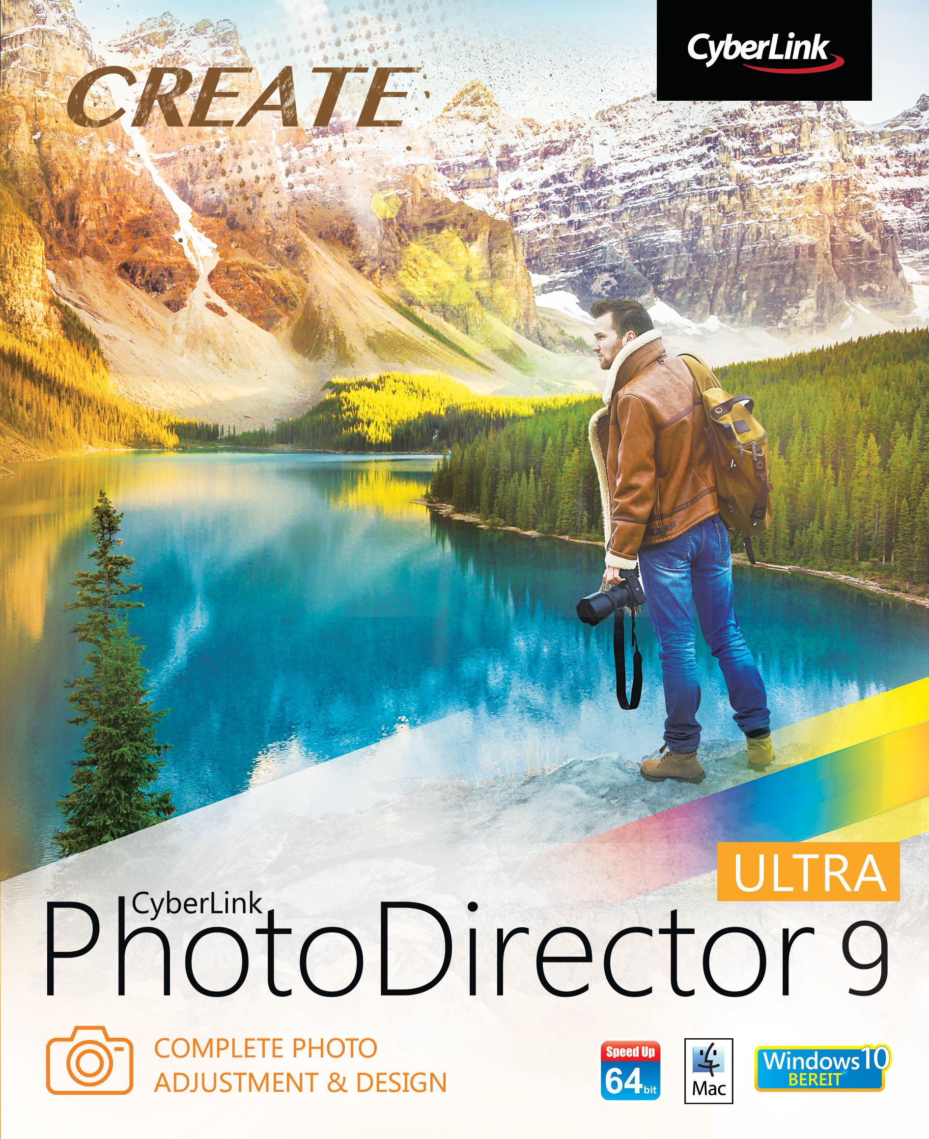 CyberLink PhotoDirector 9 Ultra (WIN) [Download]