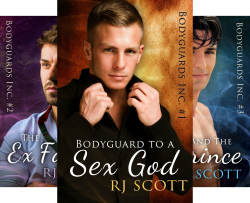 Bodyguards Inc. (6 Book Series) by  RJ Scott