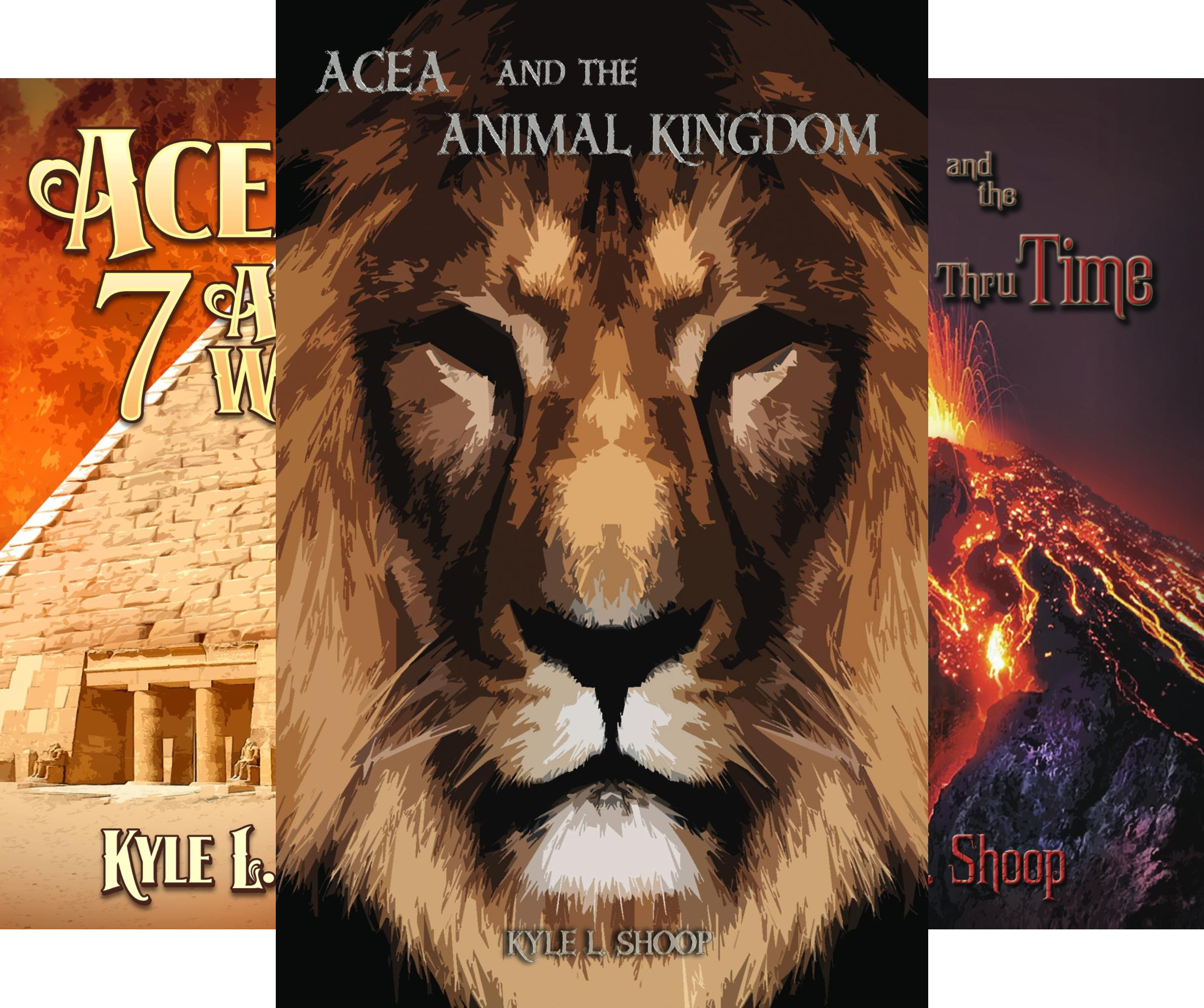 Acea Bishop (3 Book Series)
