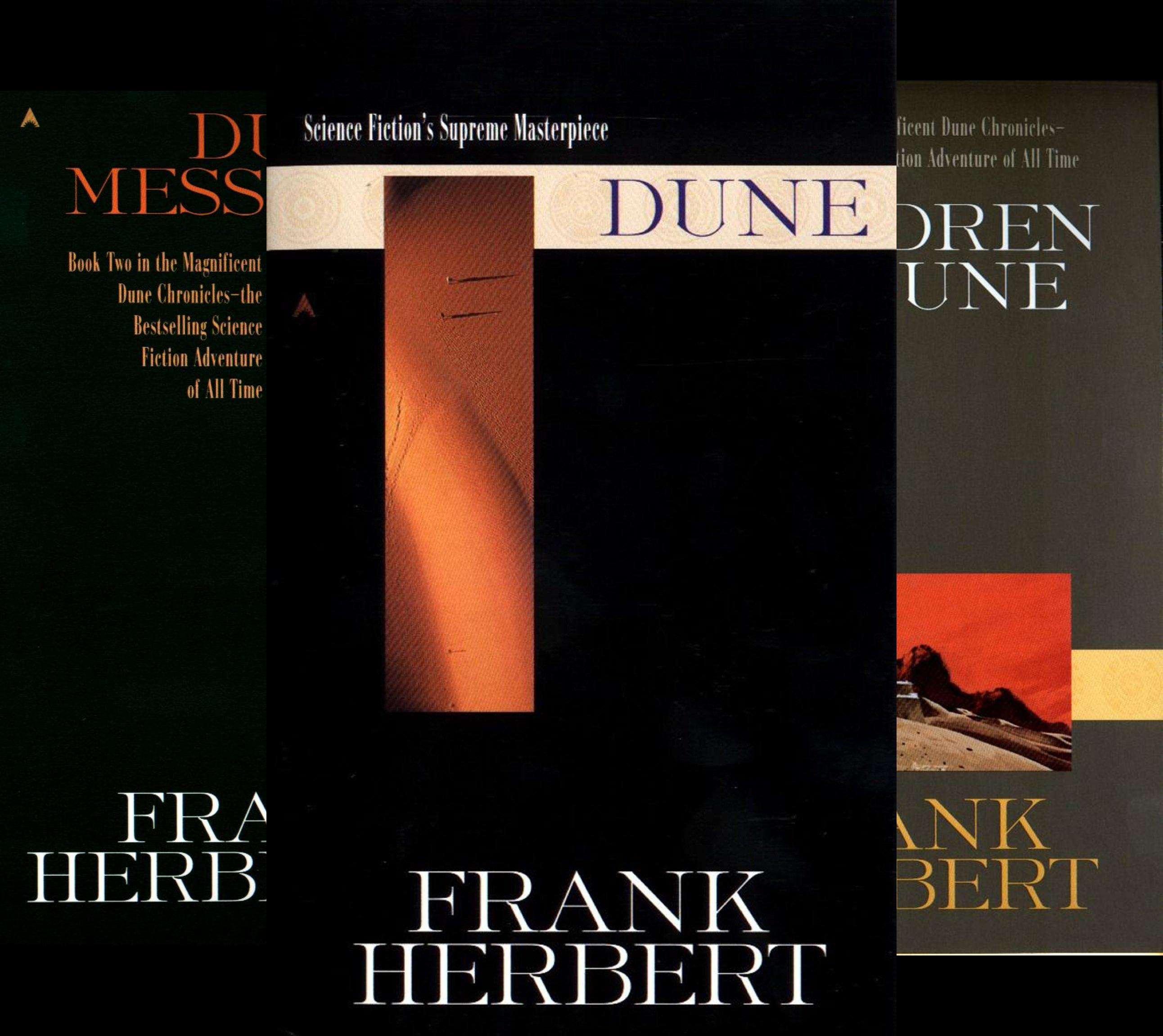 Dune Trilogy Box Set Dune, Dune Messiah, Children of Dune (3 Book...