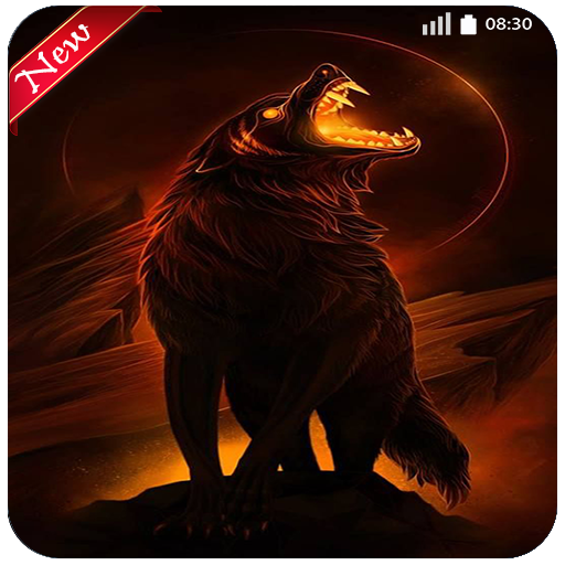 Fire Wolf Wallpaper 4k New Images Locker Phone Amazonco