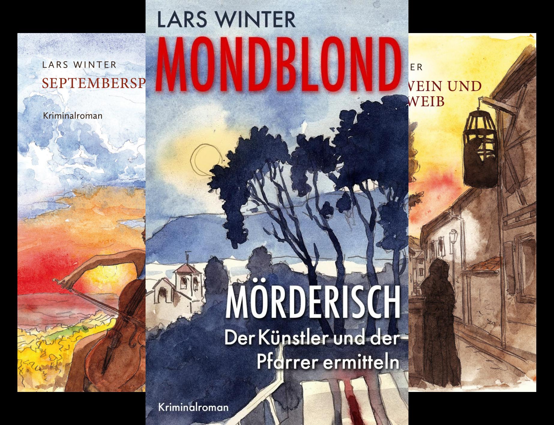 Zwischen Mord und Mordsvergnügen (Reihe in 3 Bänden)