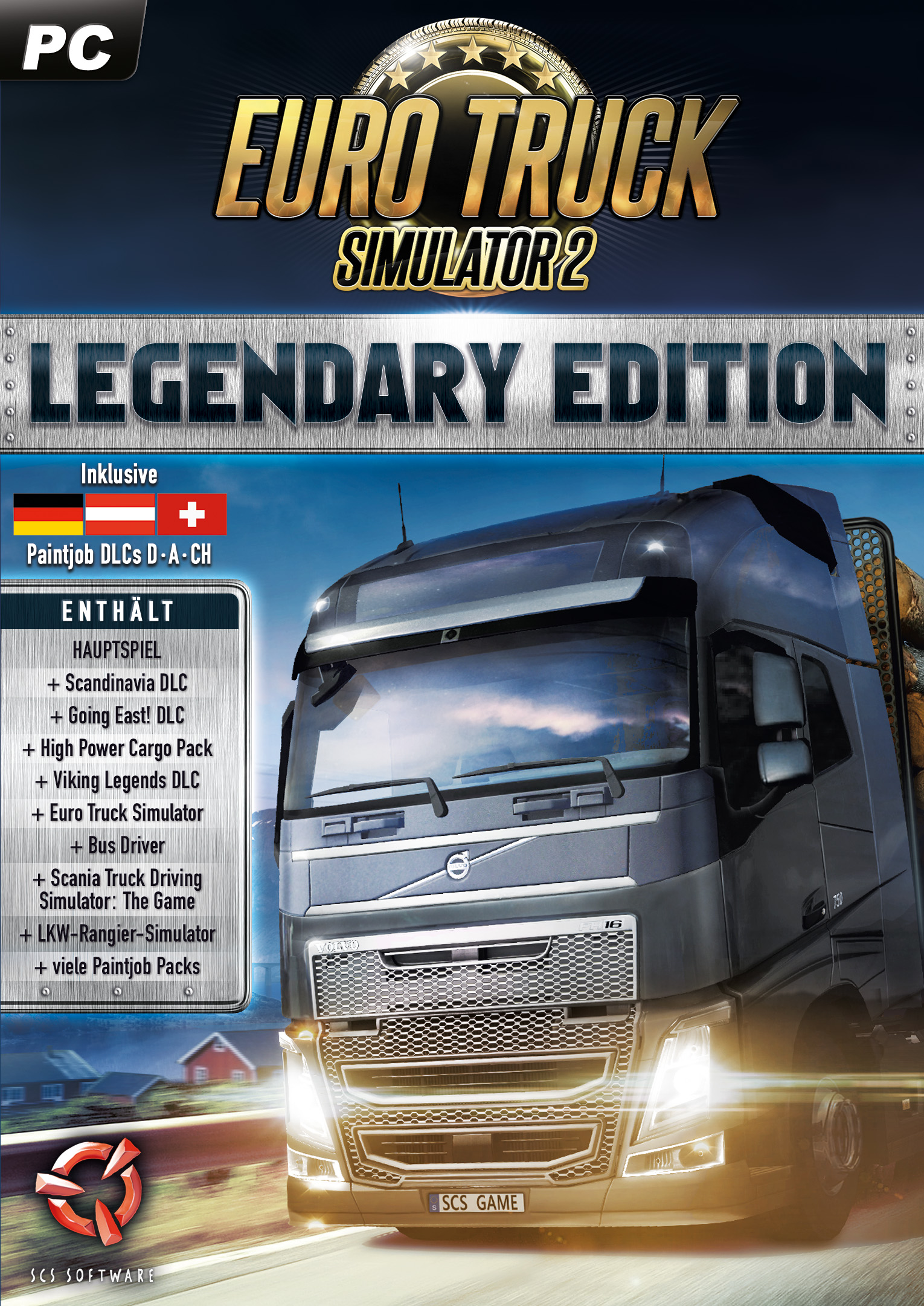 Euro Truck Simulator 2: Legendary Edition [PC Code - Steam]