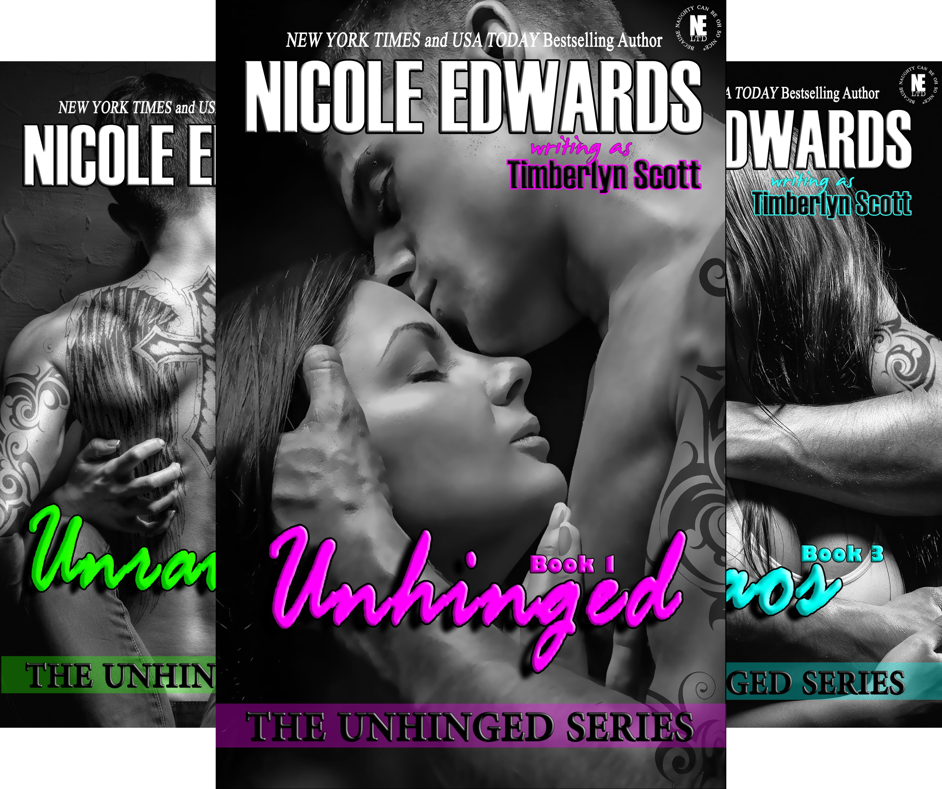 Unhinged (3 Book Series)