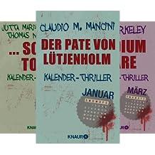 Kalender Thriller (Reihe in 12 Bänden)