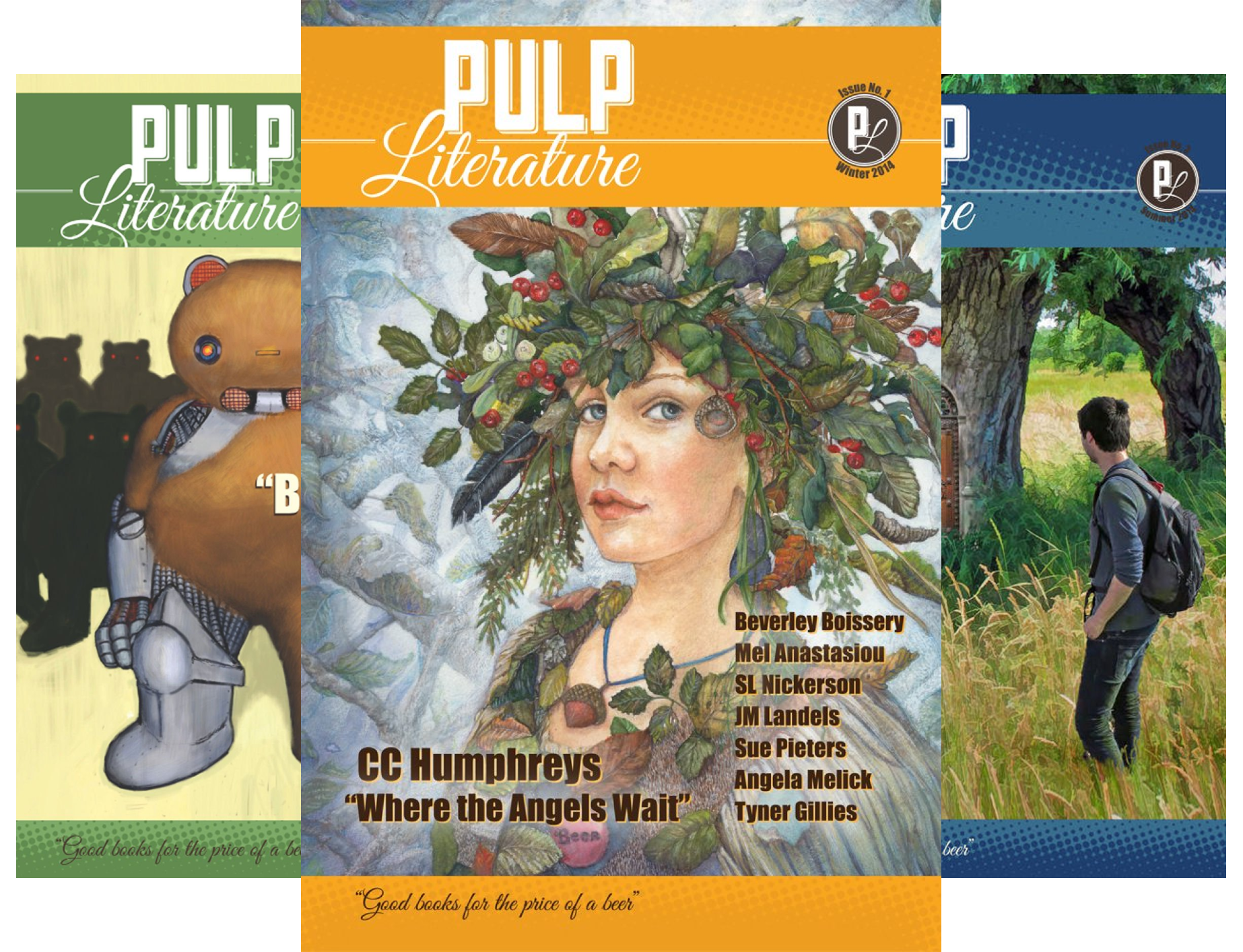 pulp-literature-13-book-series
