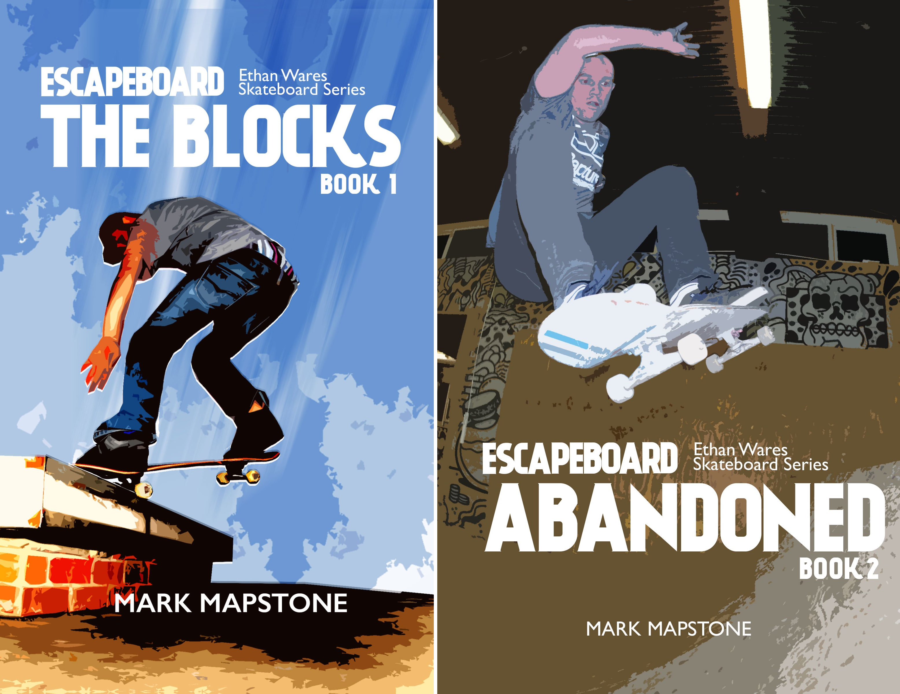 Ethan Wares Skateboard Series (2 Book Series)
