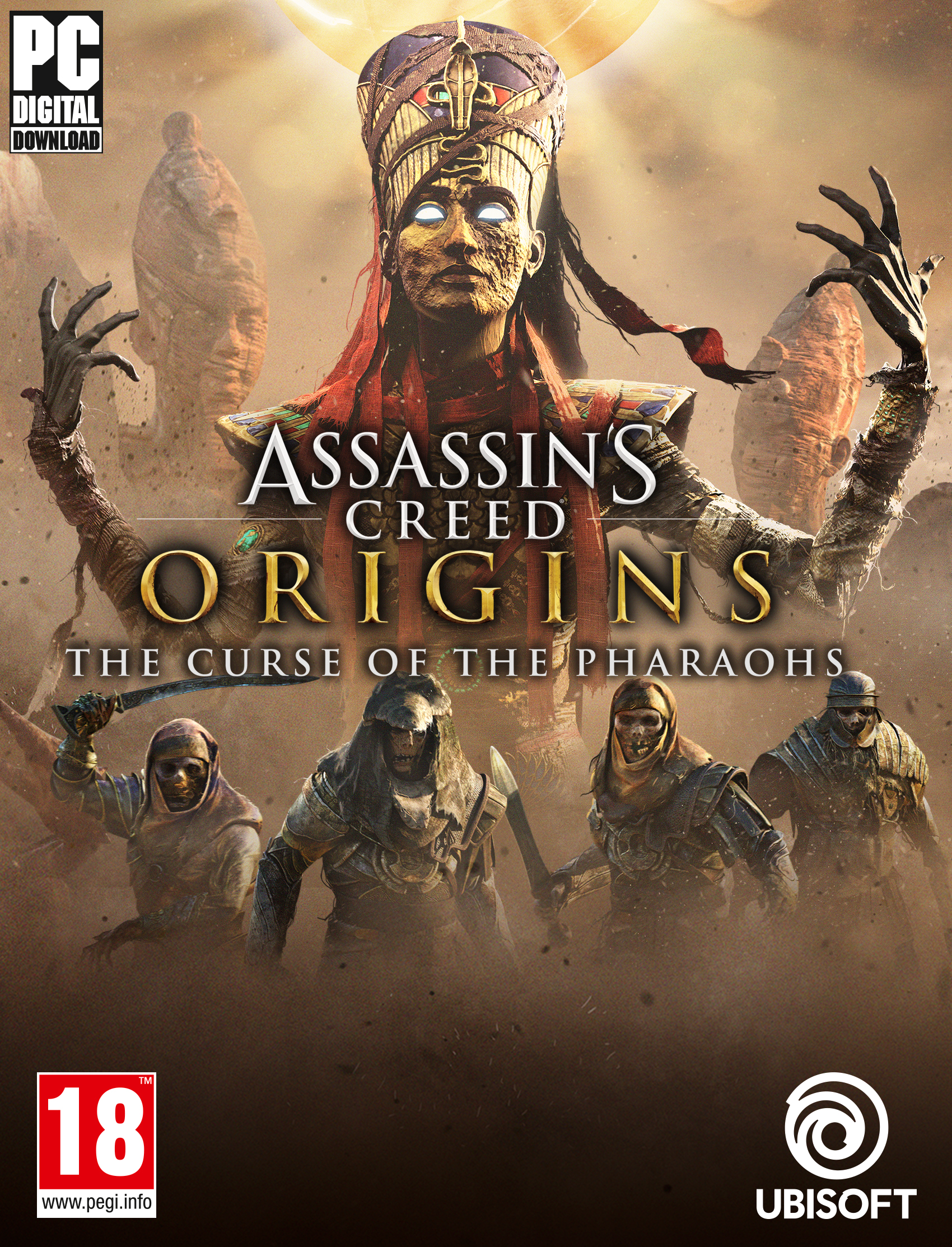 Assassin's Creed Origins – Standard Edition | PC Download – Uplay Code