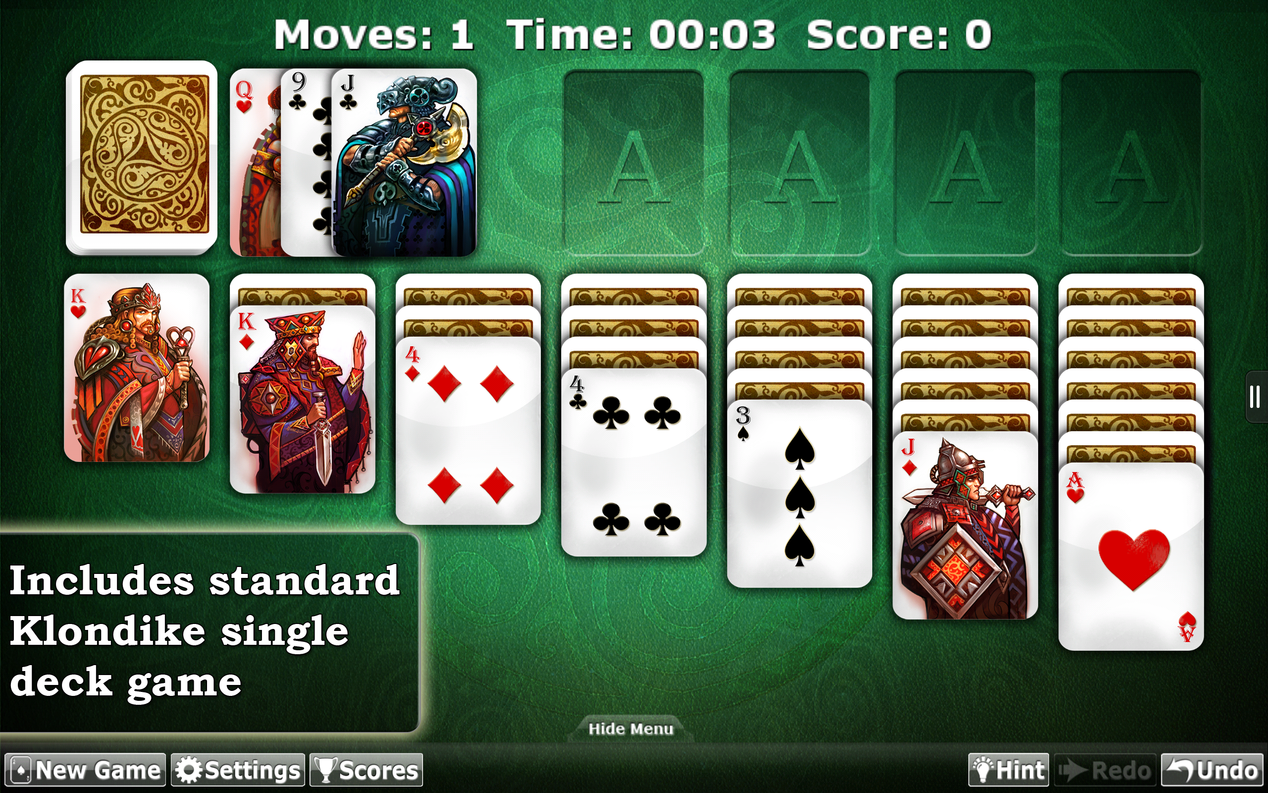 free double deck solitaire