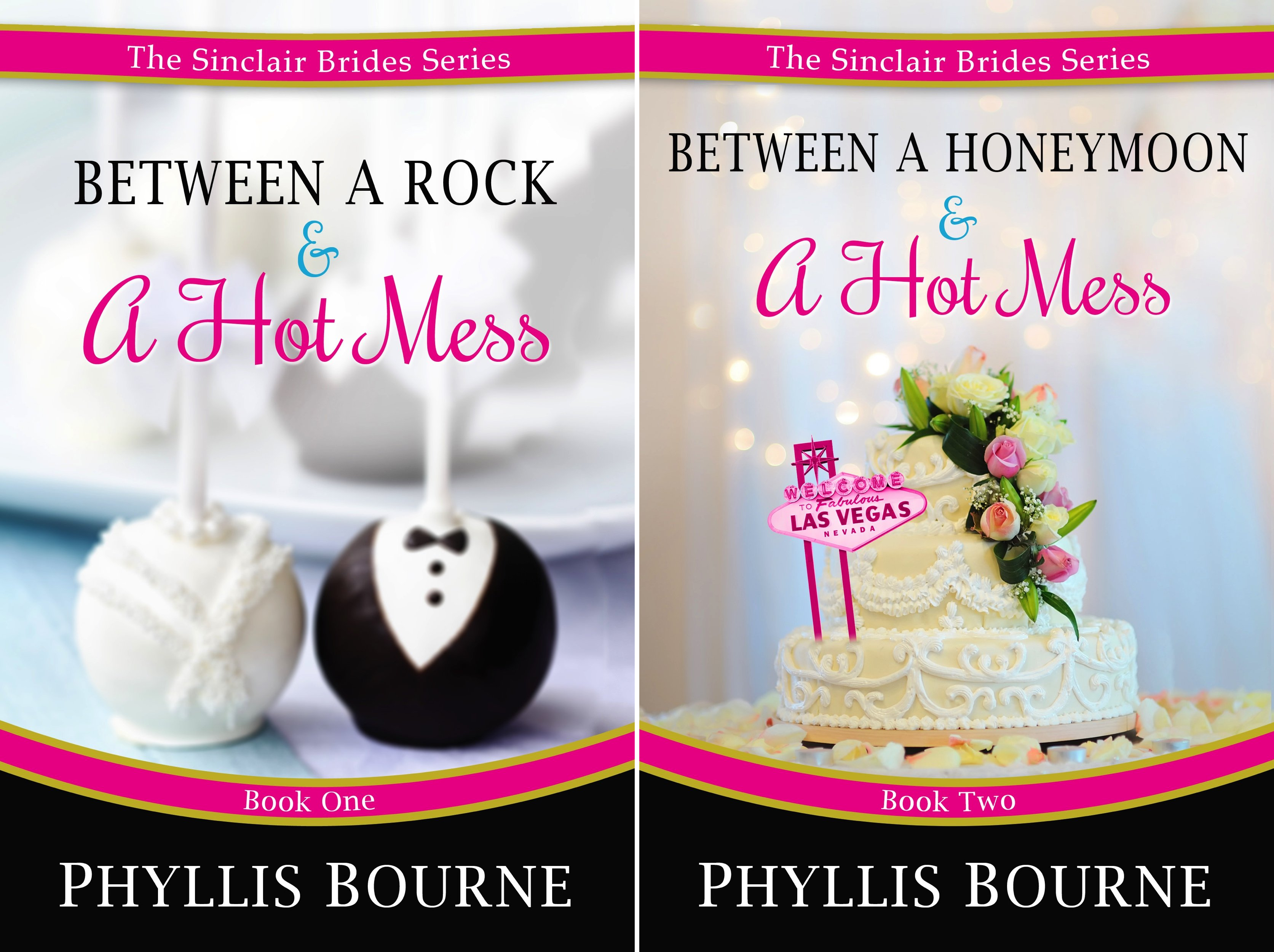 The Sinclair Brides (2 Book Series) (Phyllis Kindle Bourne Edition)